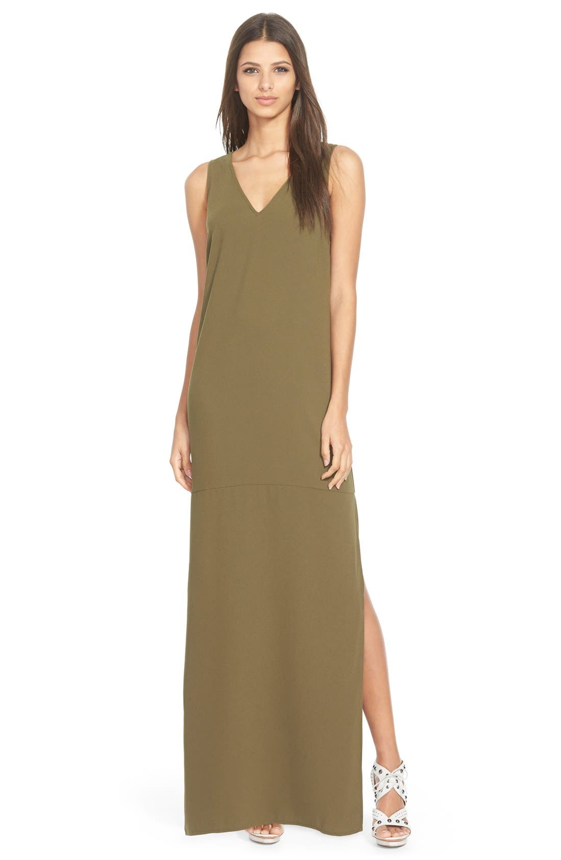 Main Image - Leith V-Neck Maxi Dress