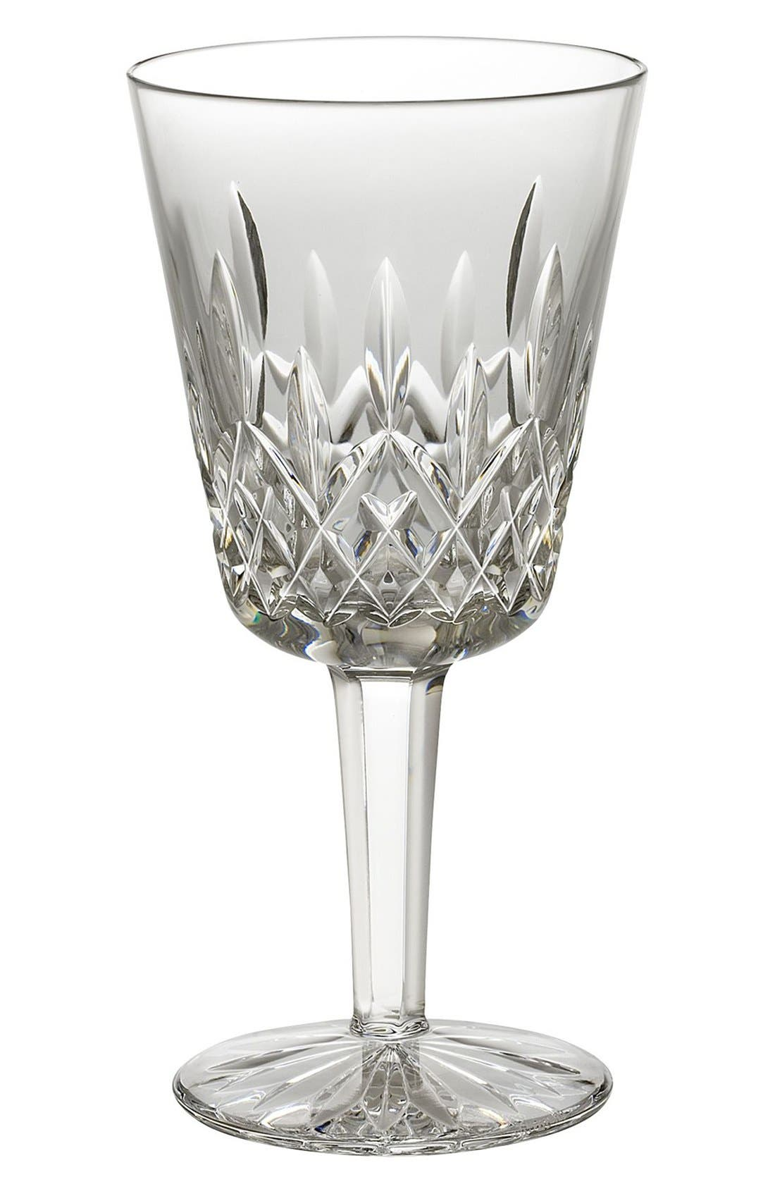 Main Image - Waterford 'Lismore' Lead Crystal Goblet