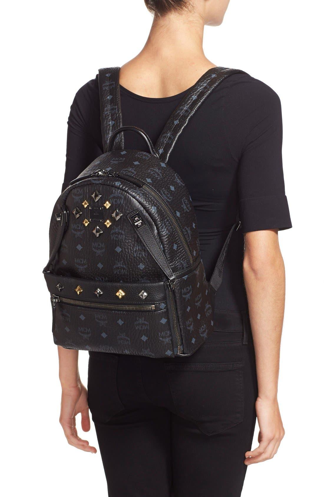 Alternate Image 2  - MCM 'Small Dual Stark' Backpack