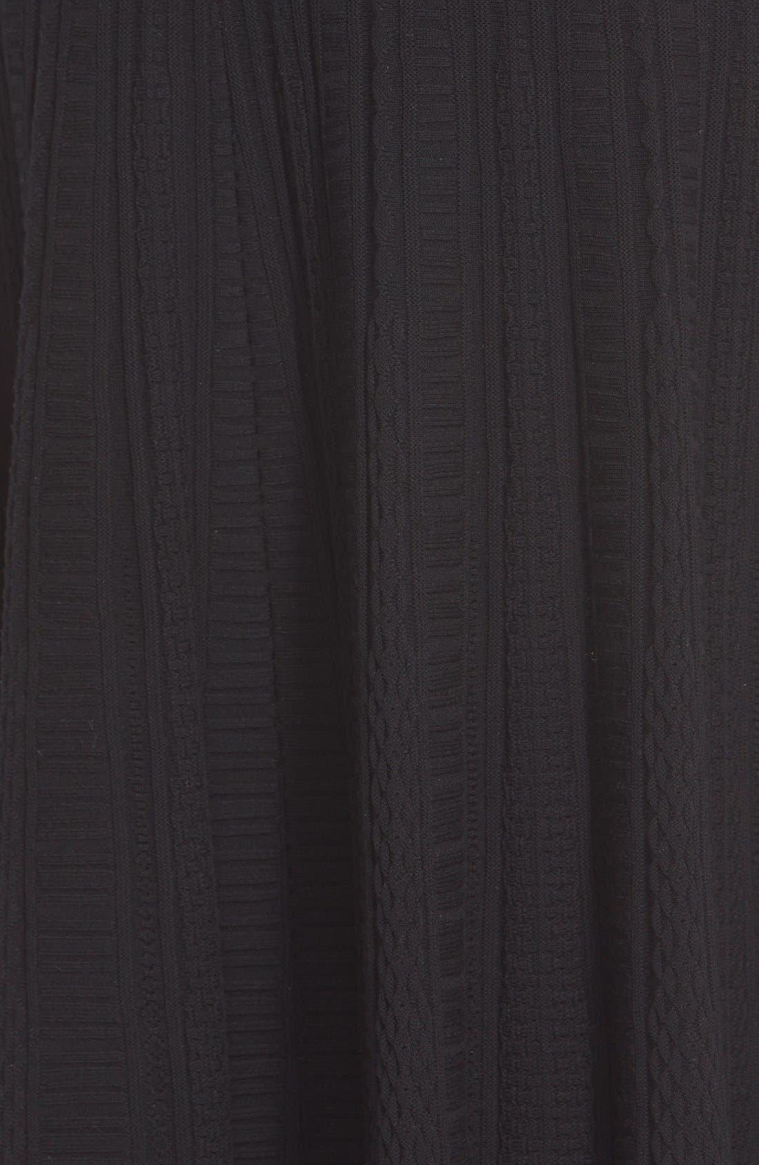 Alternate Image 3  - St. John Collection 'Colette'Flared Knit Dress