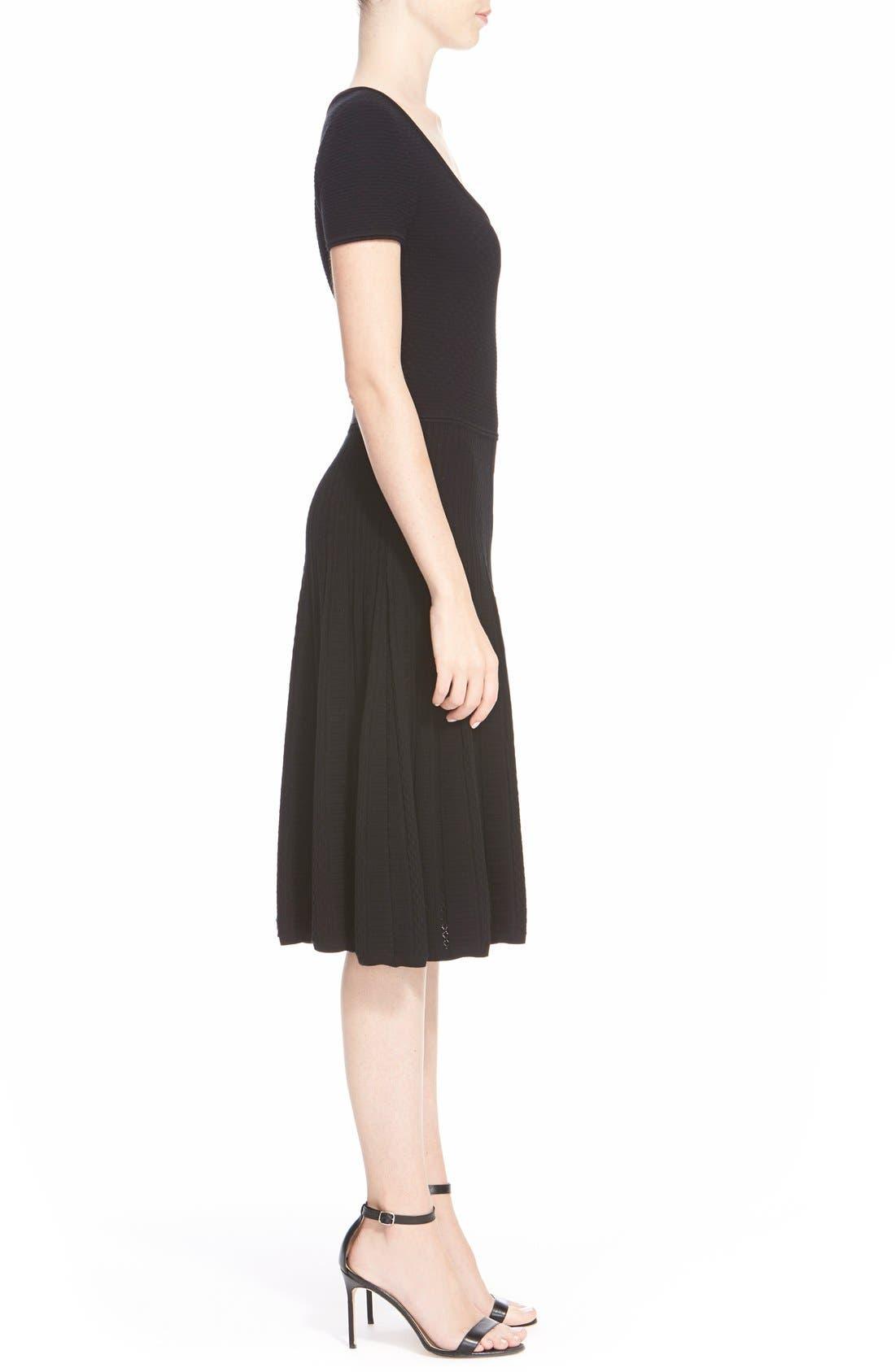 Alternate Image 5  - St. John Collection 'Colette'Flared Knit Dress