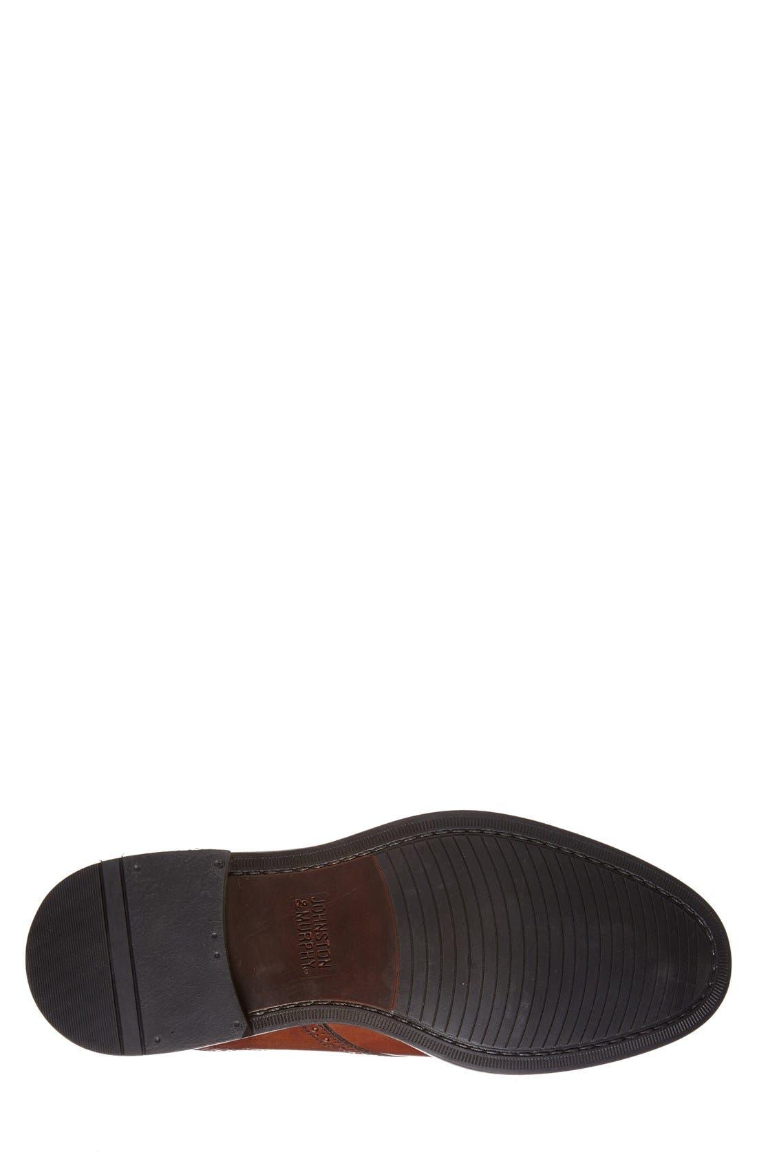 'Tabor' Saddle Shoe,                             Alternate thumbnail 4, color,                             Mahogany