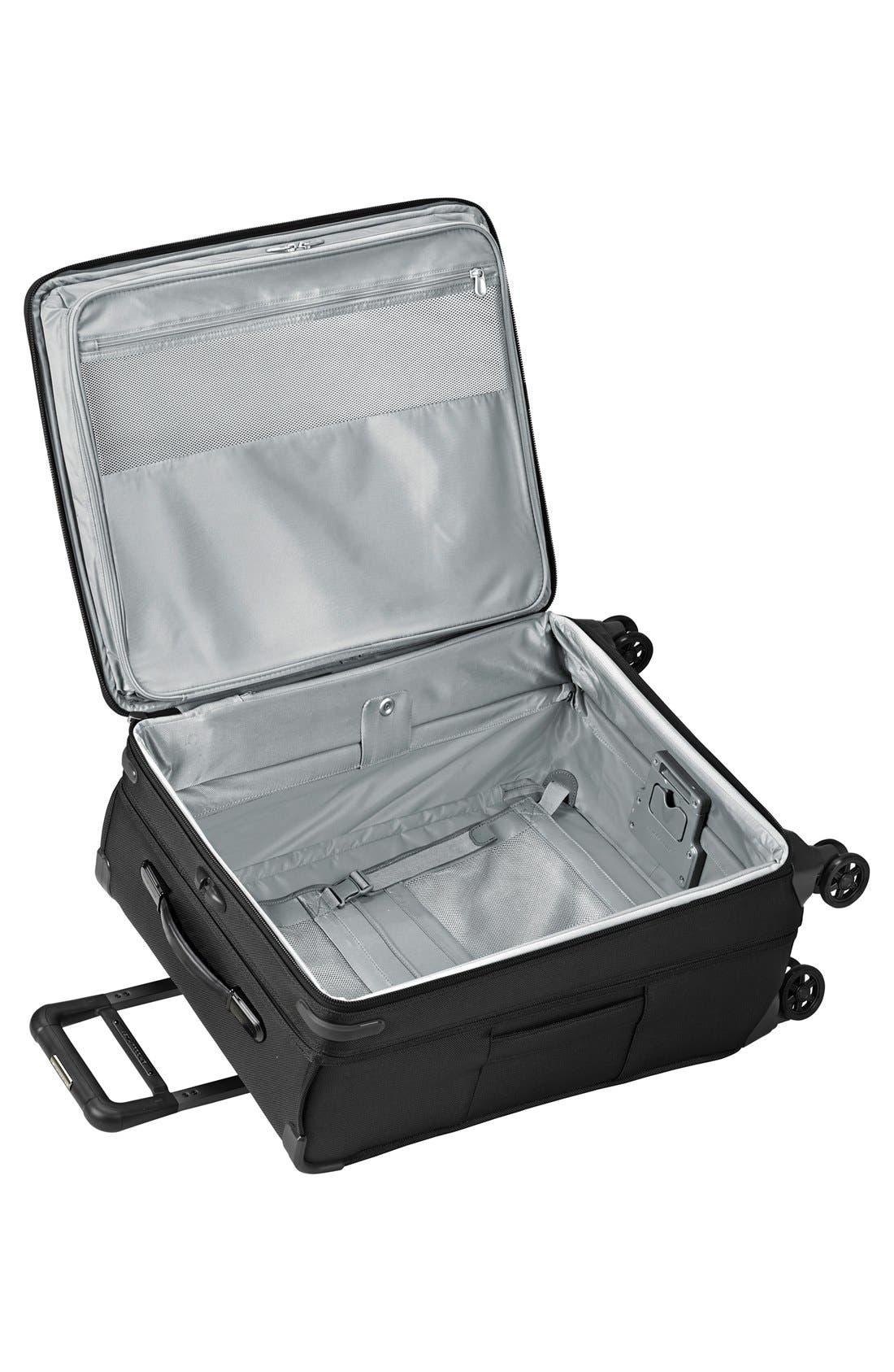 'Baseline' Medium Expandable Rolling Packing Case,                             Alternate thumbnail 2, color,                             Black