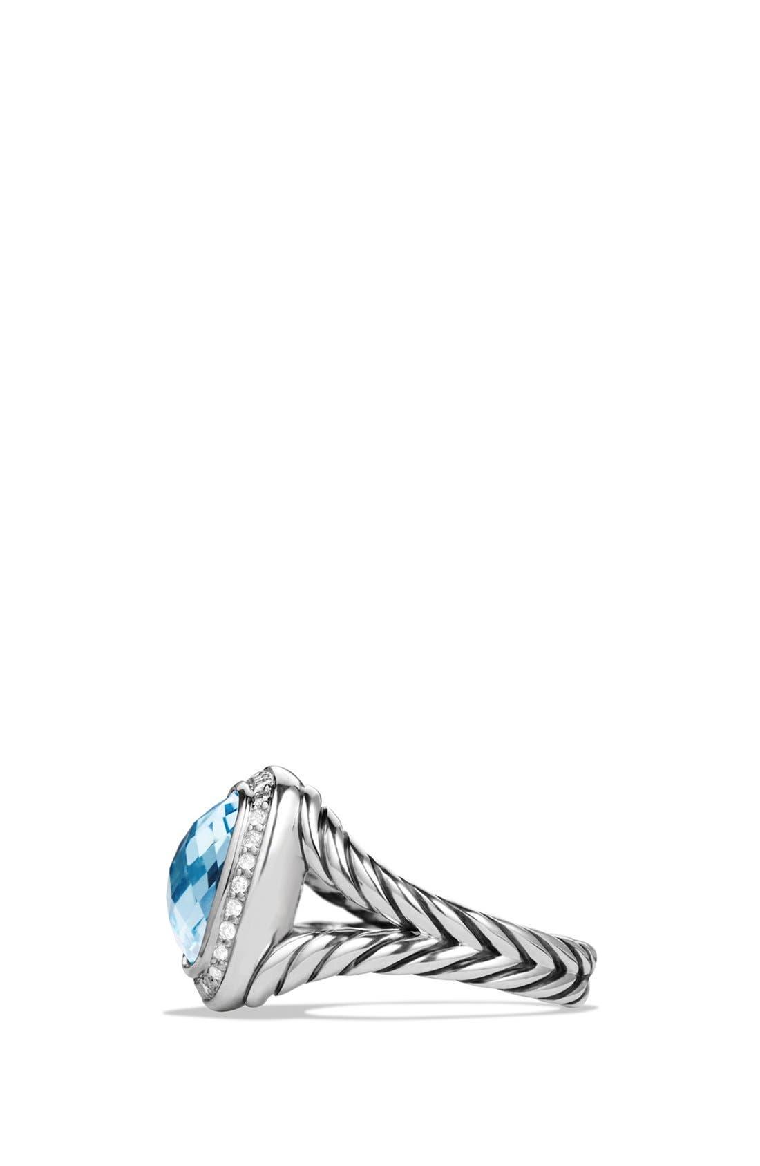 Alternate Image 2  - David Yurman'Albion' Ring with Semiprecious Stone and Diamonds