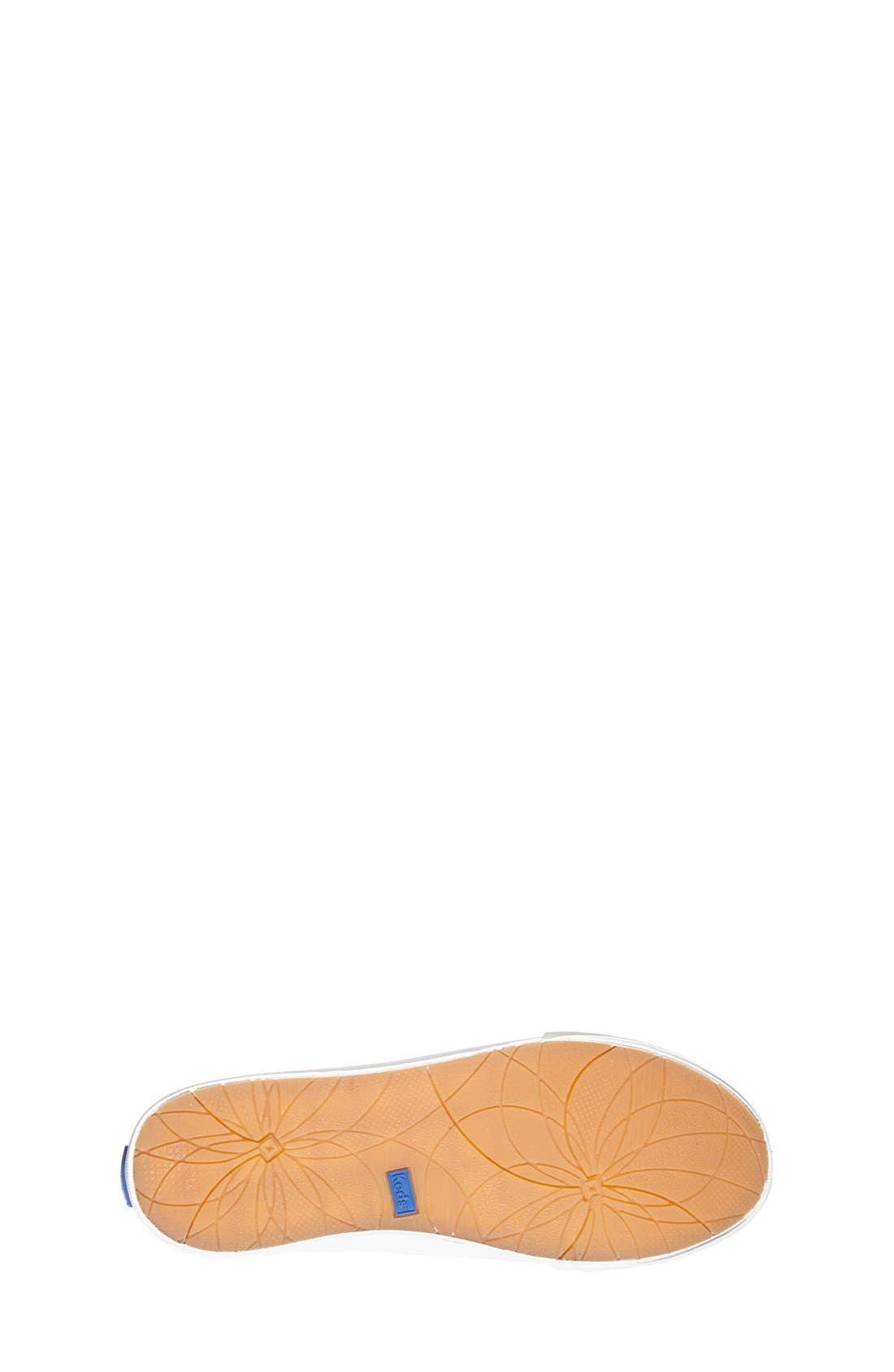 'Double Up' Sneaker,                             Alternate thumbnail 4, color,                             White