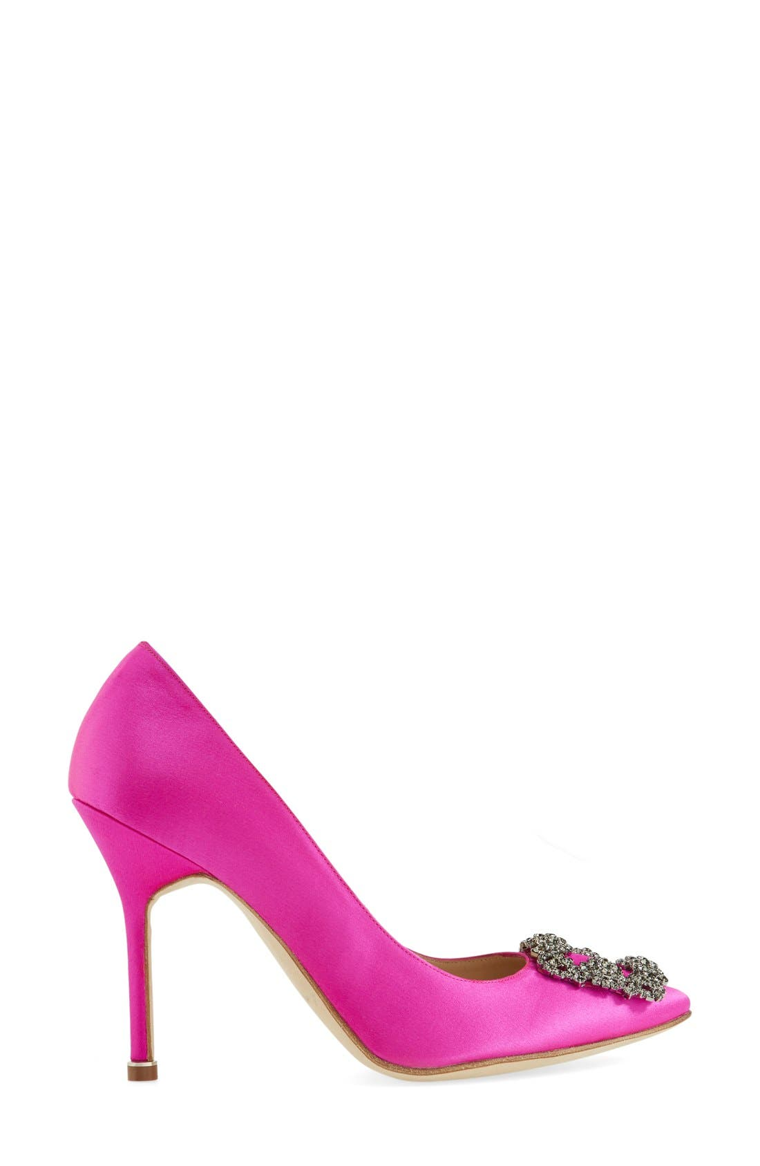 Alternate Image 4  - Manolo Blahnik 'Hangisi' Jewel Pump (Women)
