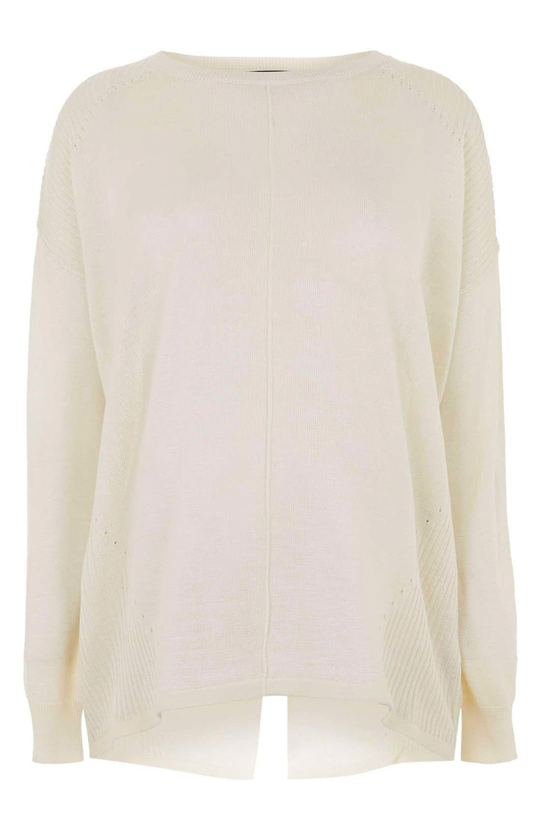 Main Image - TopshopRibbed Maternity Sweater