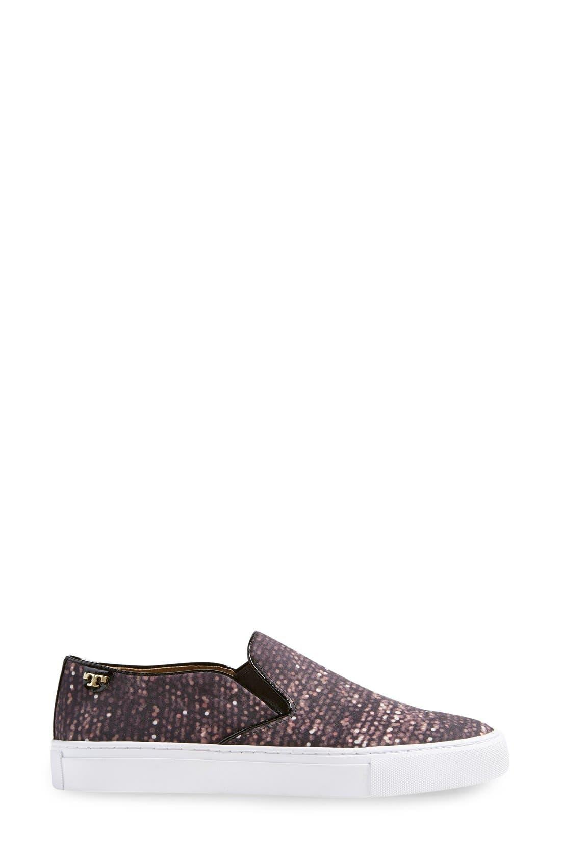 Alternate Image 4  - Tory Burch Print Slip-On Sneaker (Women)