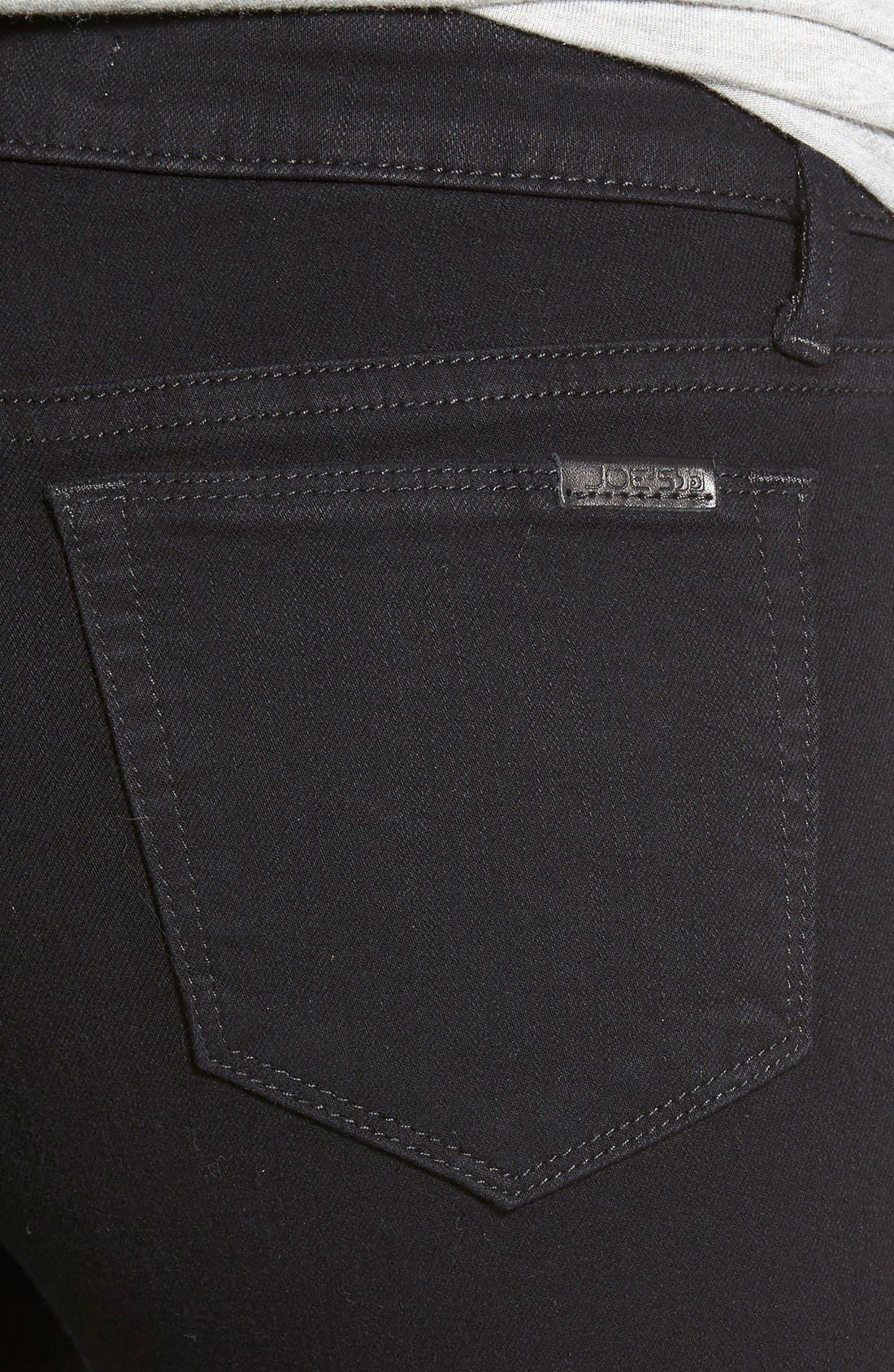 'Flawless - Icon' Skinny Jeans,                             Alternate thumbnail 4, color,                             Regan