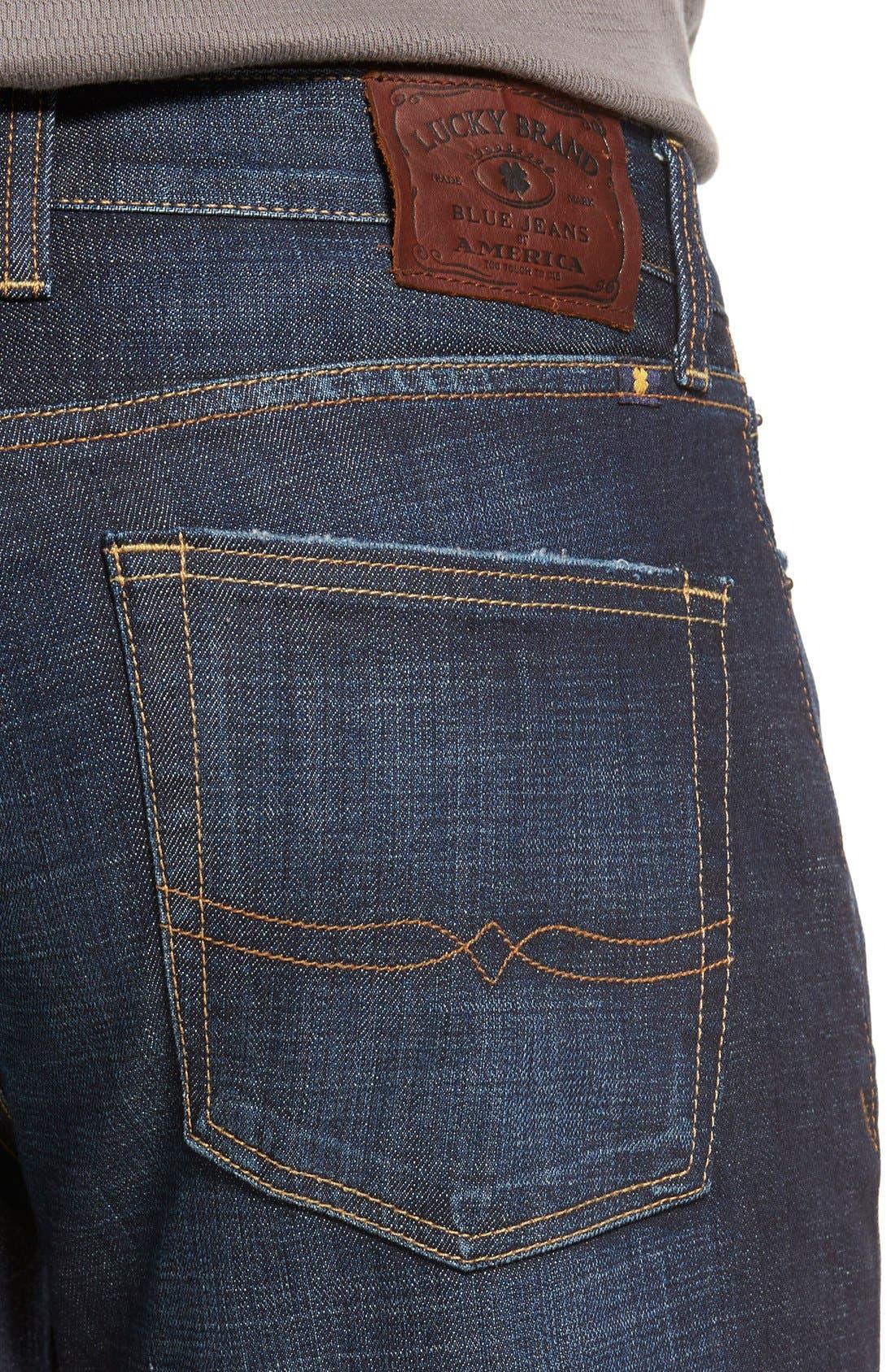Alternate Image 4  - Lucky Brand '361 Vintage' Straight Leg Jeans (Whispering Pines)