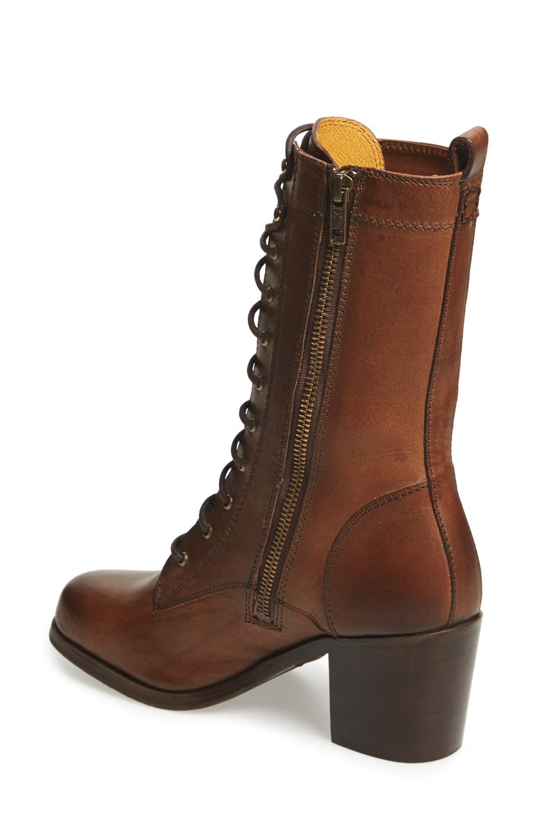 Alternate Image 2  - Frye 'Kendall' Lace-Up Boot (Women)