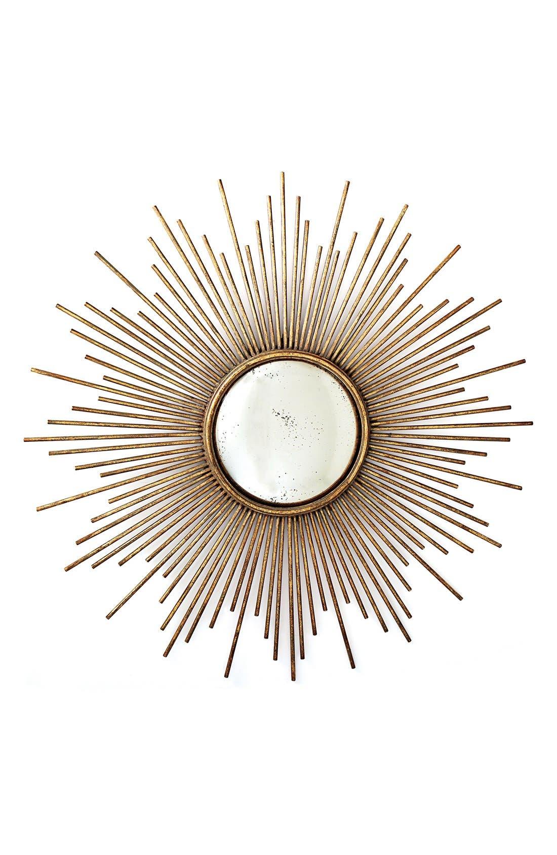 Alternate Image 1 Selected - Two's Company Sunburst Mirror