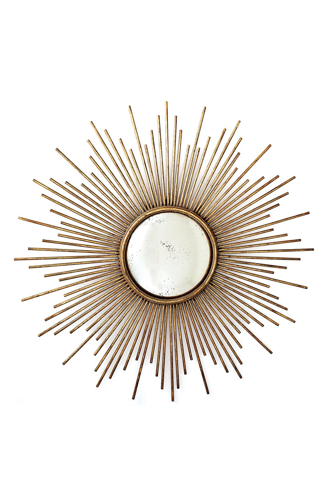 Main Image - Two's Company Sunburst Mirror