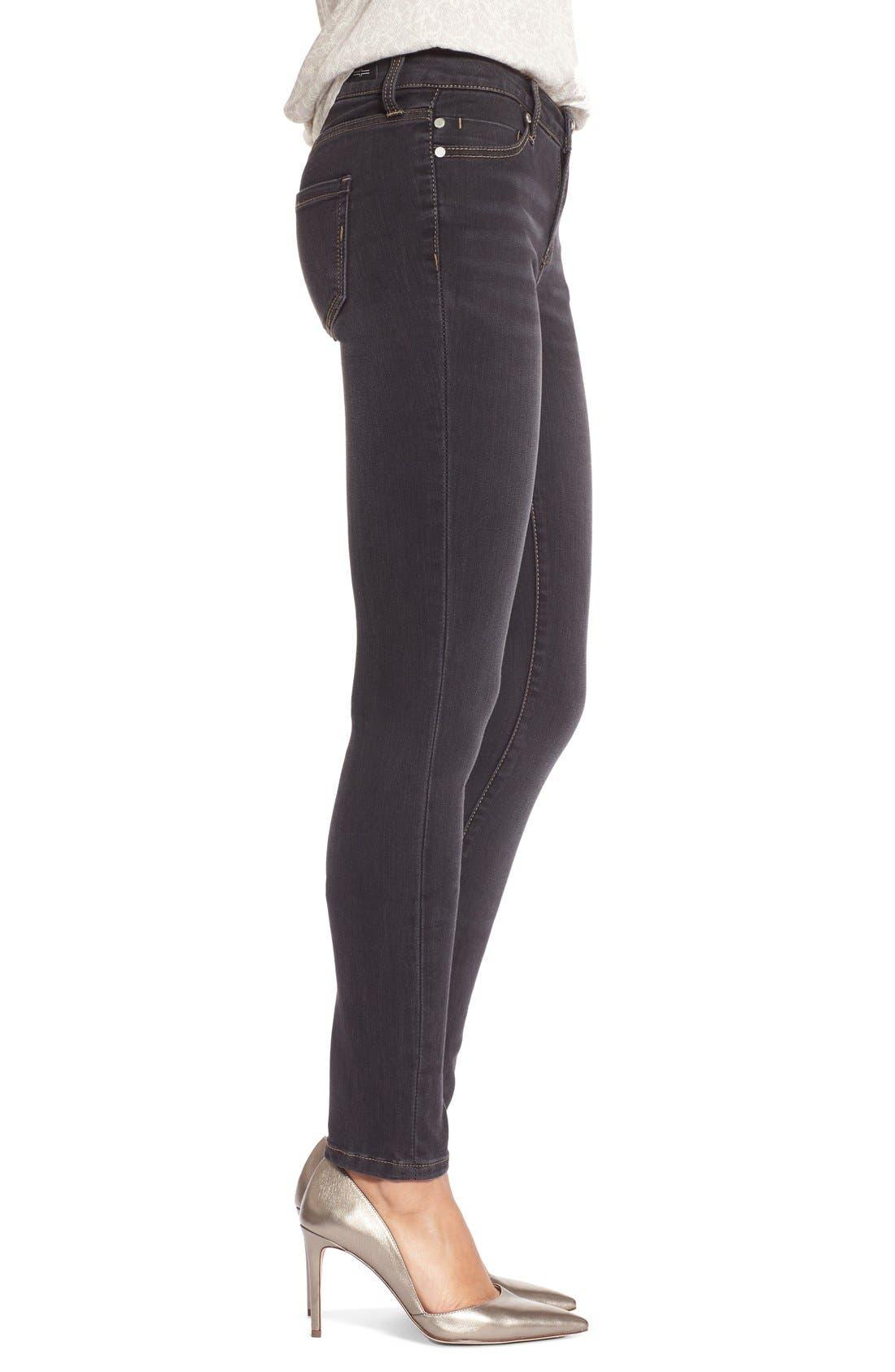 Abby StretchSkinny Jeans,                             Alternate thumbnail 3, color,                             Sulphur