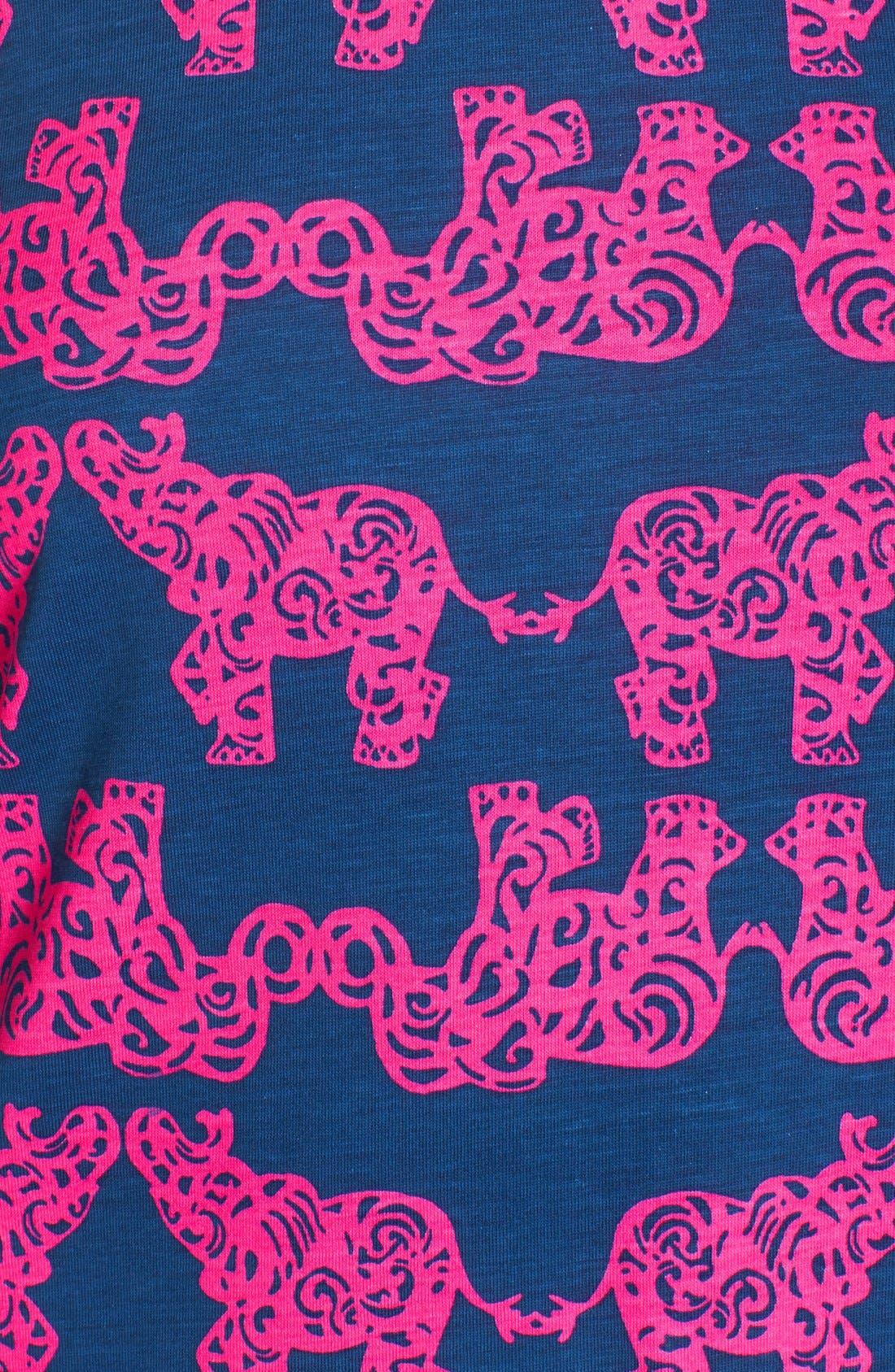 Alternate Image 6  - Lilly Pulitzer® 'Marlowe' Elephant Print PimaCotton Minidress