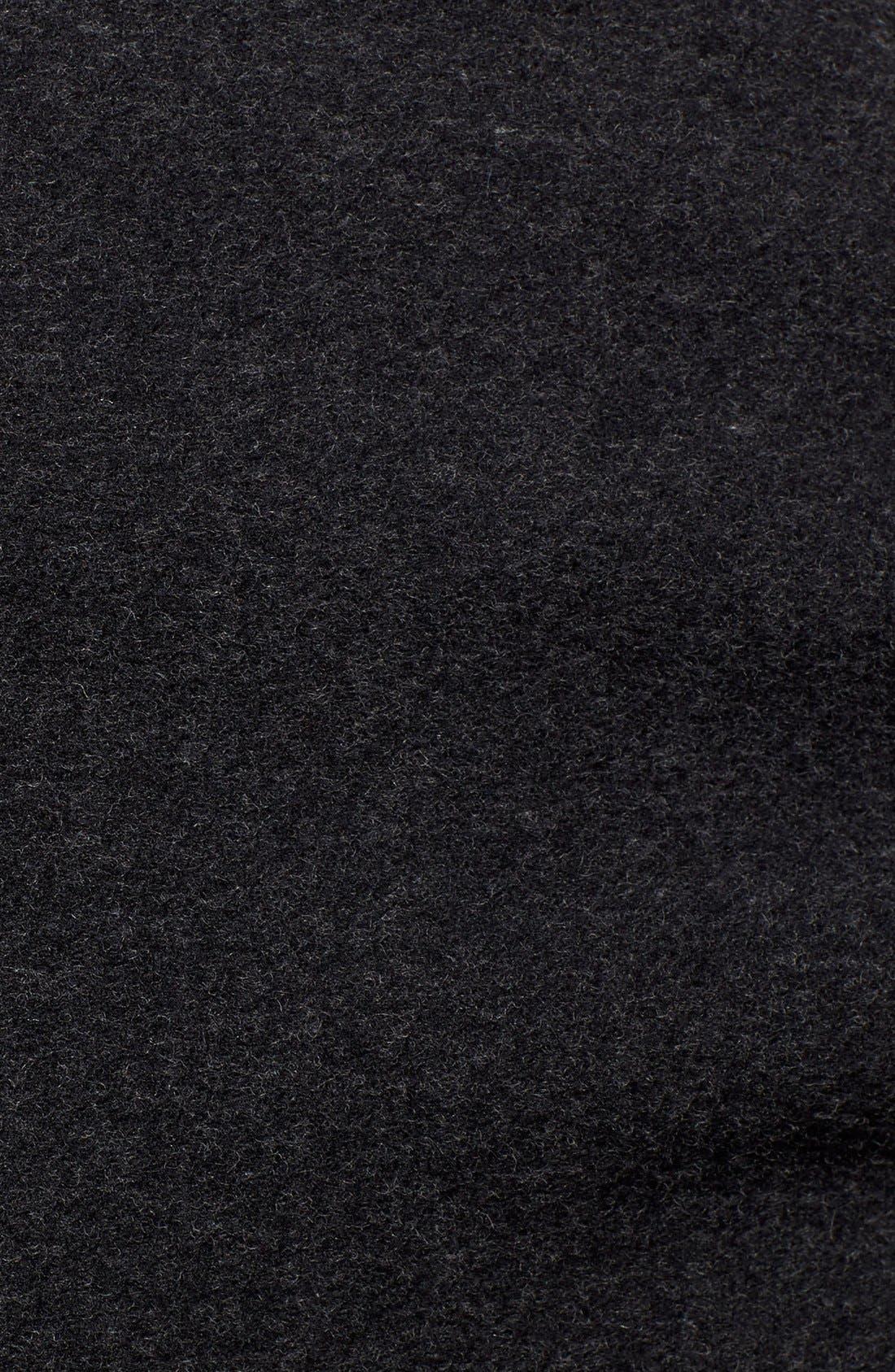 Alternate Image 4  - ZAC Zac Posen 'Sophia' Belted Wool Blend Hooded Asymmetrical Coat