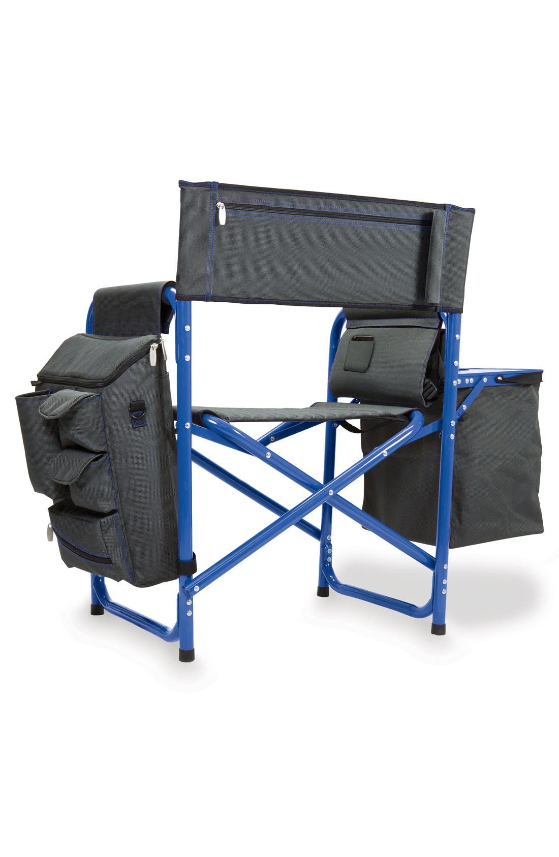 'Fusion' Lawn Chair,                             Alternate thumbnail 4, color,                             Blue