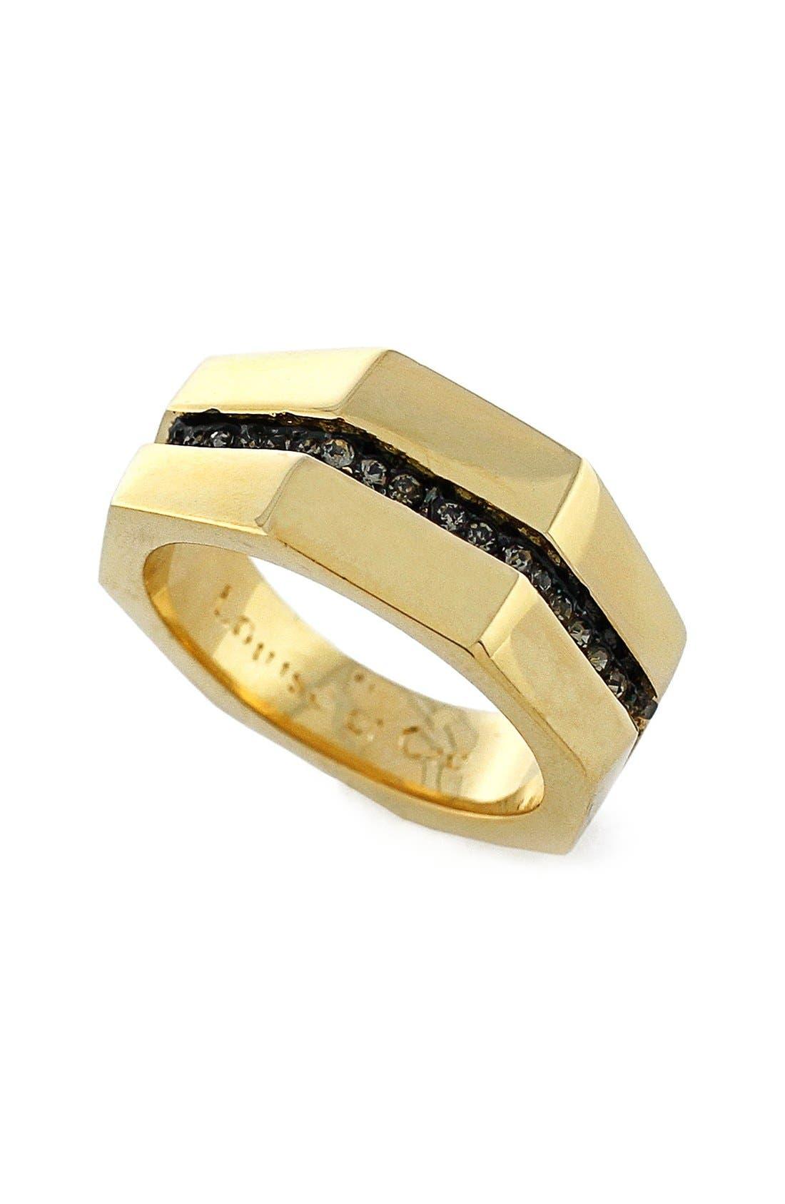 Alternate Image 1 Selected - Louise et Cie'Kammenstrat'Split PavéBand Ring