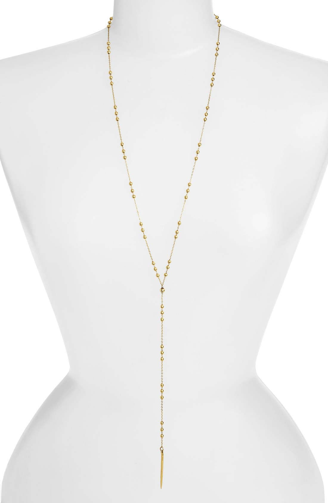 Main Image - Dogeared Long Y-Necklace