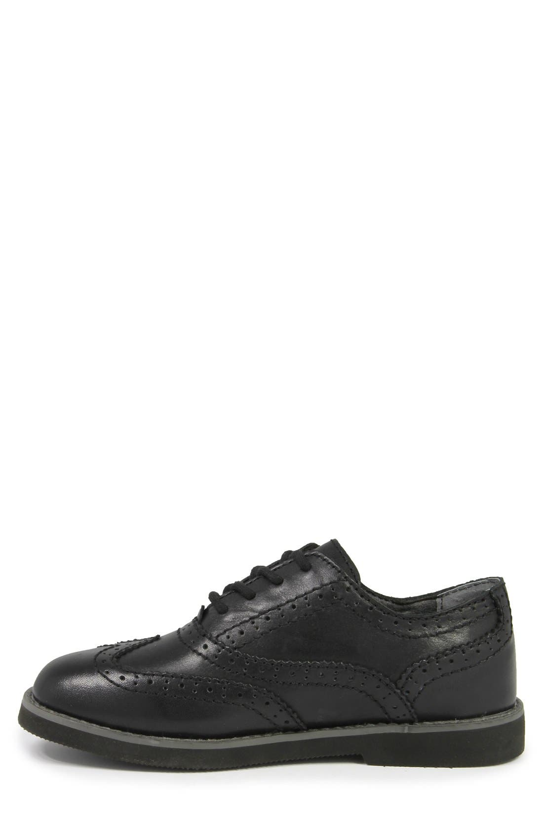 Alternate Image 2  - Florsheim 'Bucktown' Wingtip (Toddler, Little Kid & Big Kid)