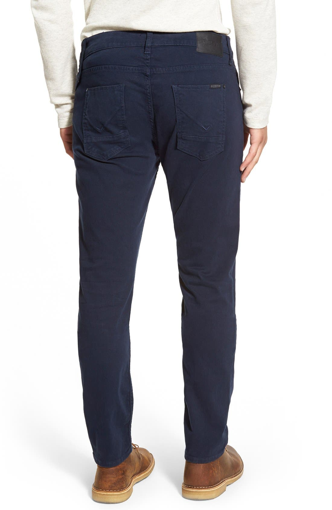 Alternate Image 2  - Hudson Jeans Blake Slim Fit Jeans (Covert Blue)