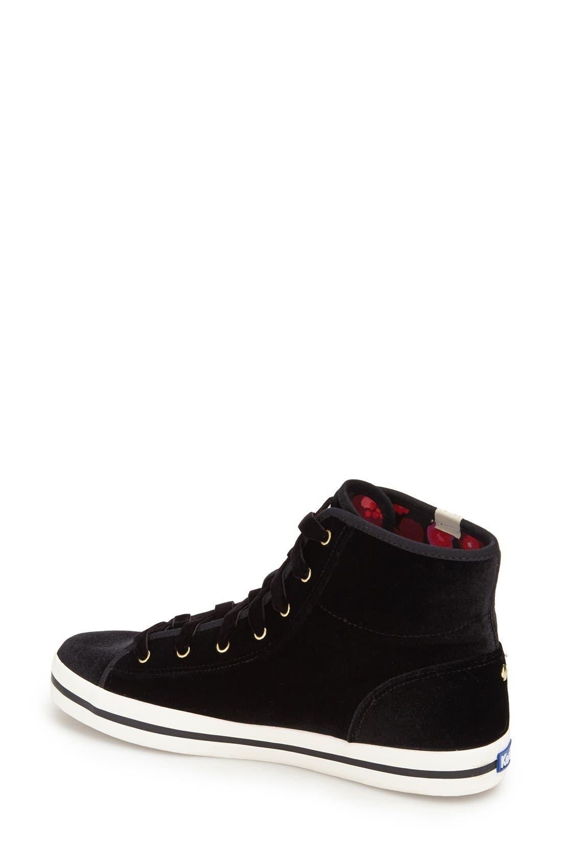 Alternate Image 2  - Keds® for kate spade new york 'dori' high top sneaker (Women)