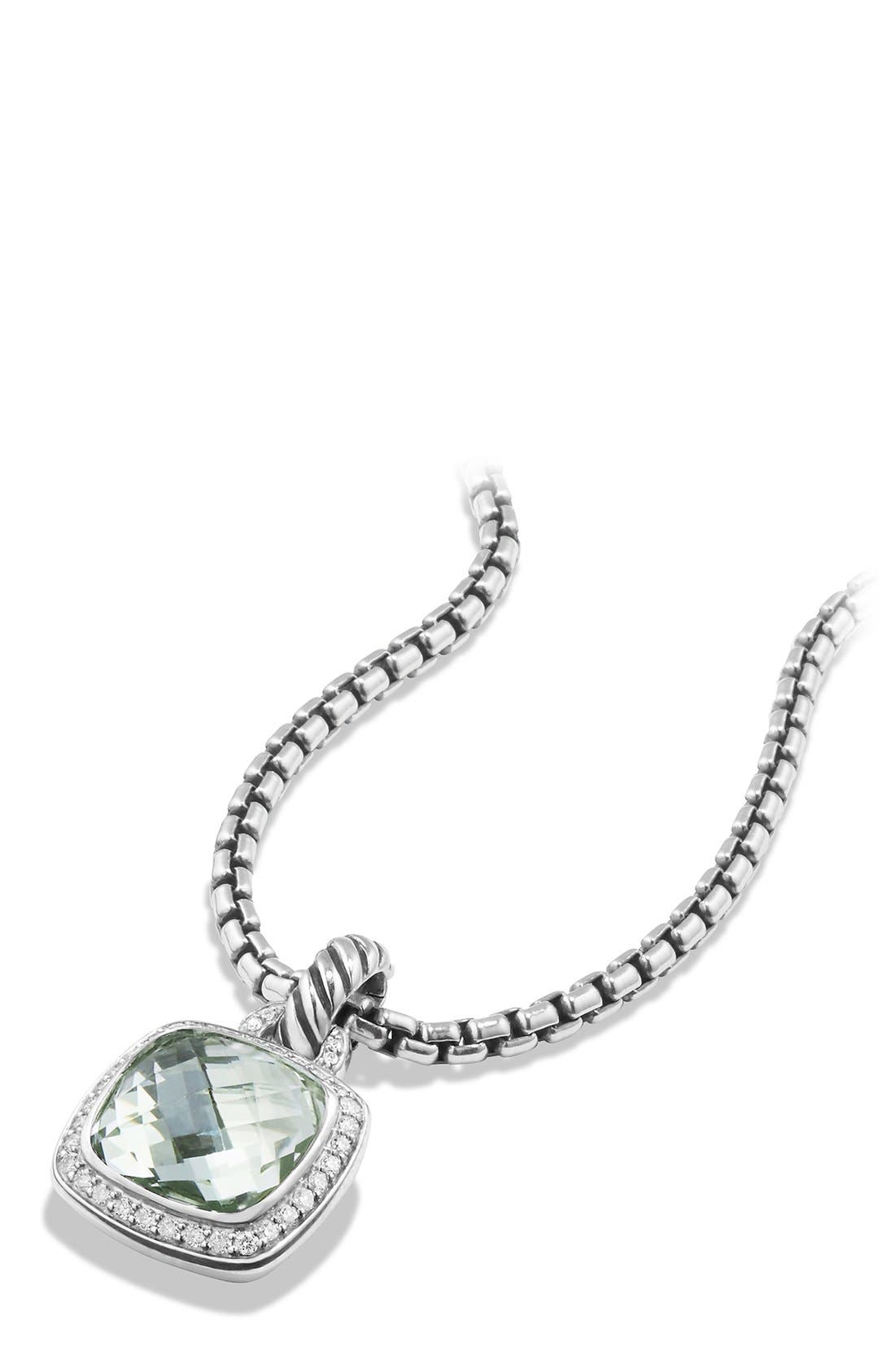 Alternate Image 2  - David Yurman 'Albion' Pendant and Diamonds