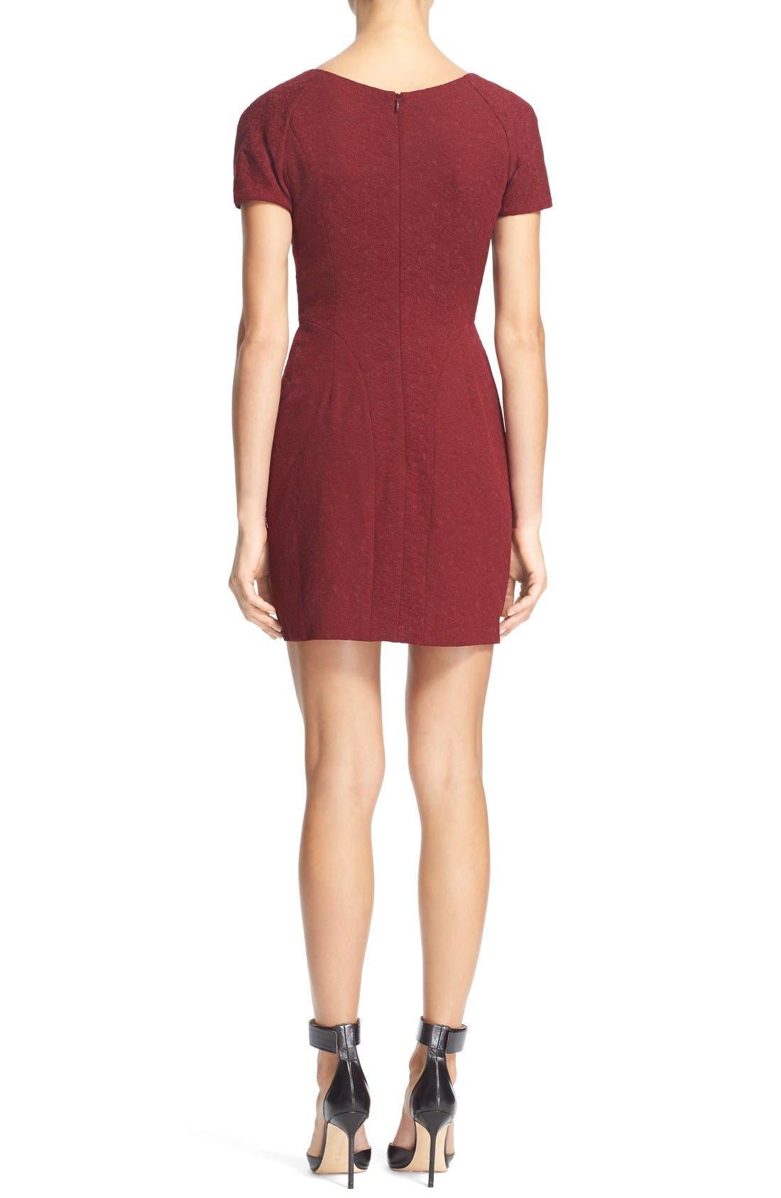 Alternate Image 2  - The KooplesFloral Jacquard Sheath Dress