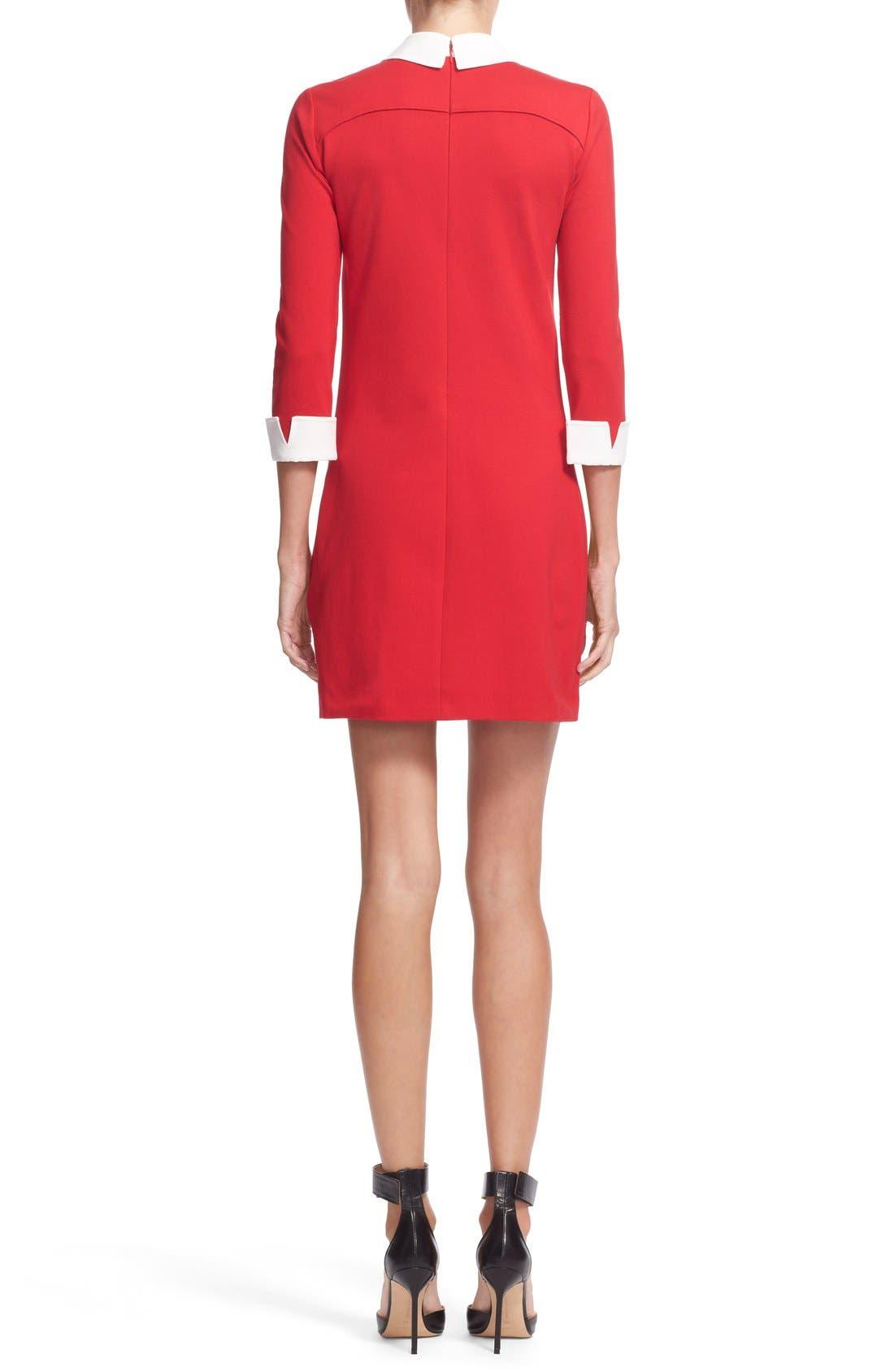 Alternate Image 2  - Ted Baker London 'Eelah' Embellished Collar Shift Dress