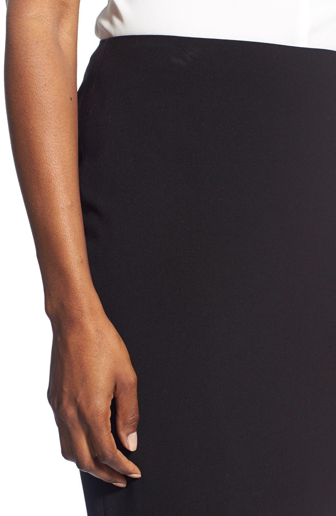 Suit Skirt,                             Alternate thumbnail 4, color,                             Black