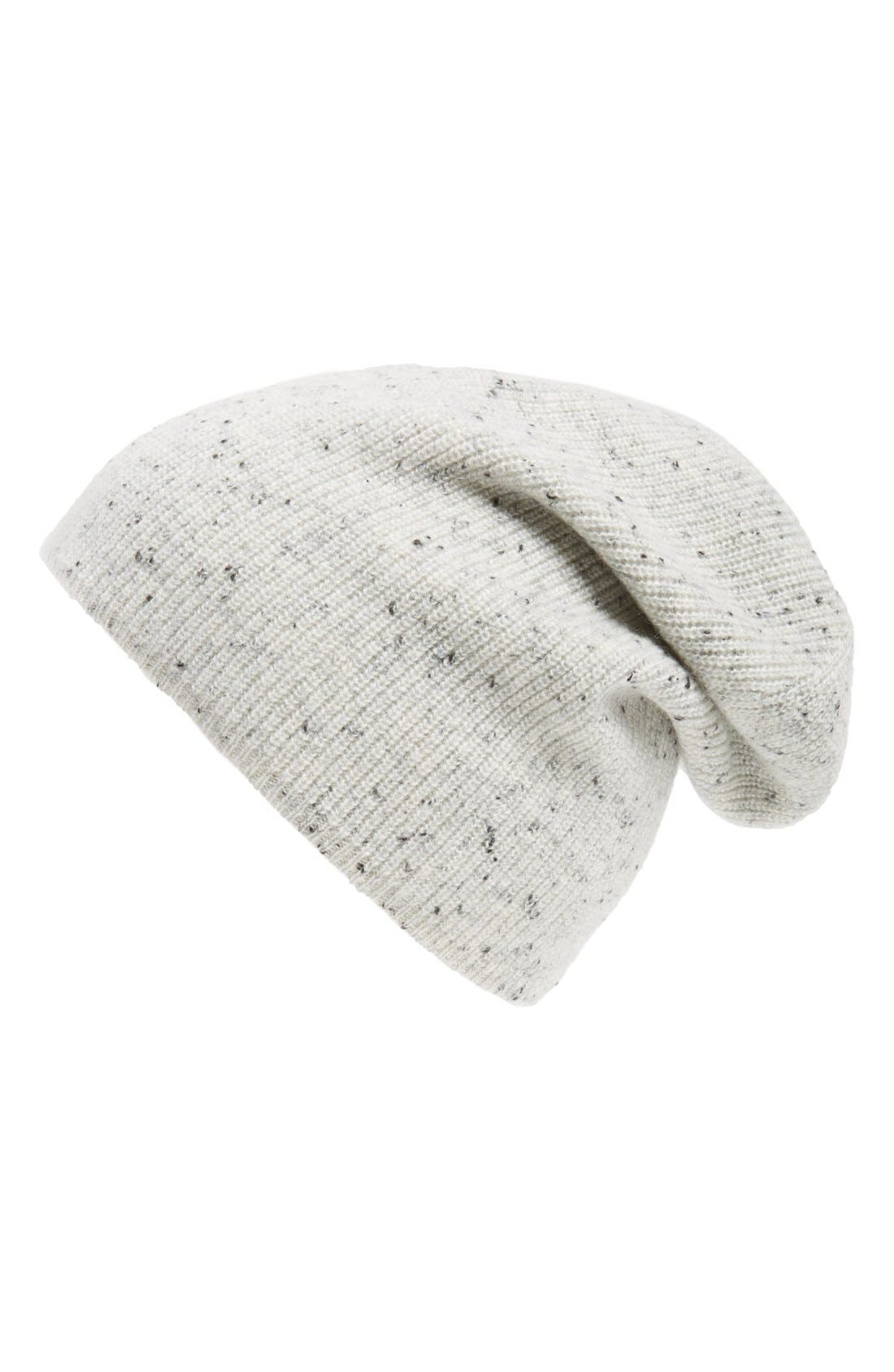 Alternate Image 1 Selected - rag & bone 'Catherine' Cashmere Slouch Beanie