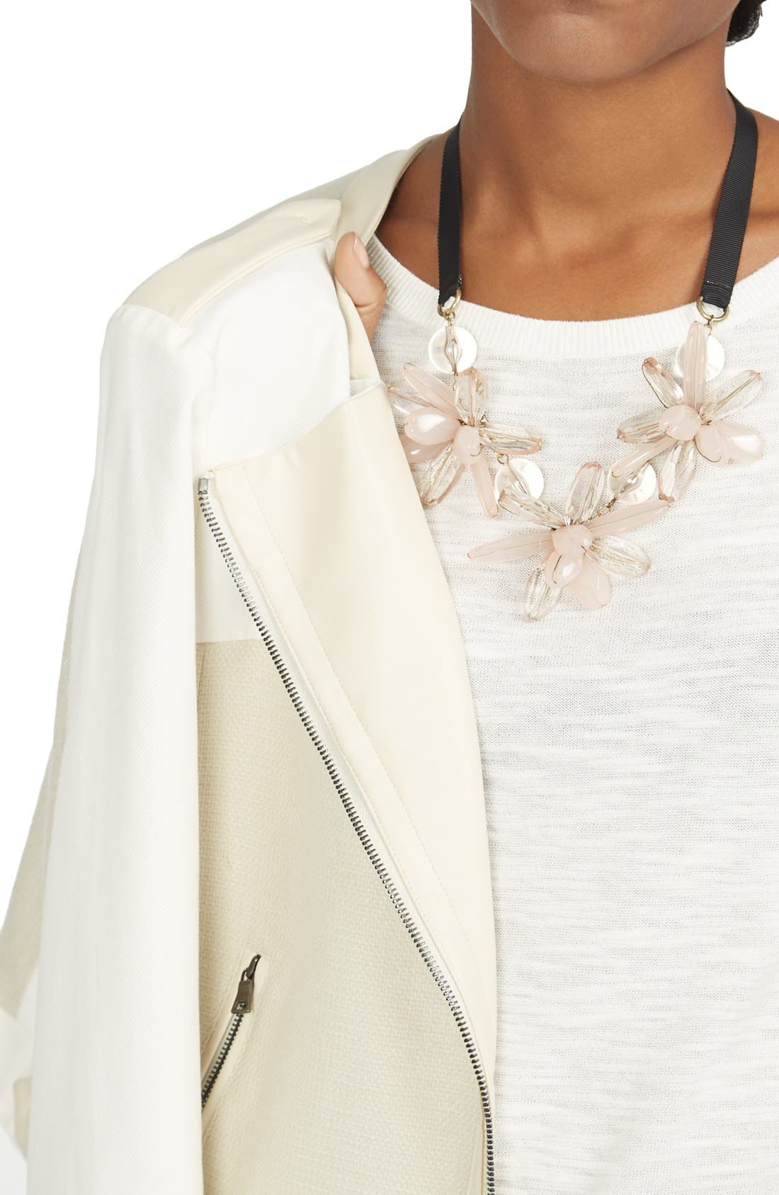 Alternate Image 4  - BaubleBar 'Plumeria' Collar Necklace