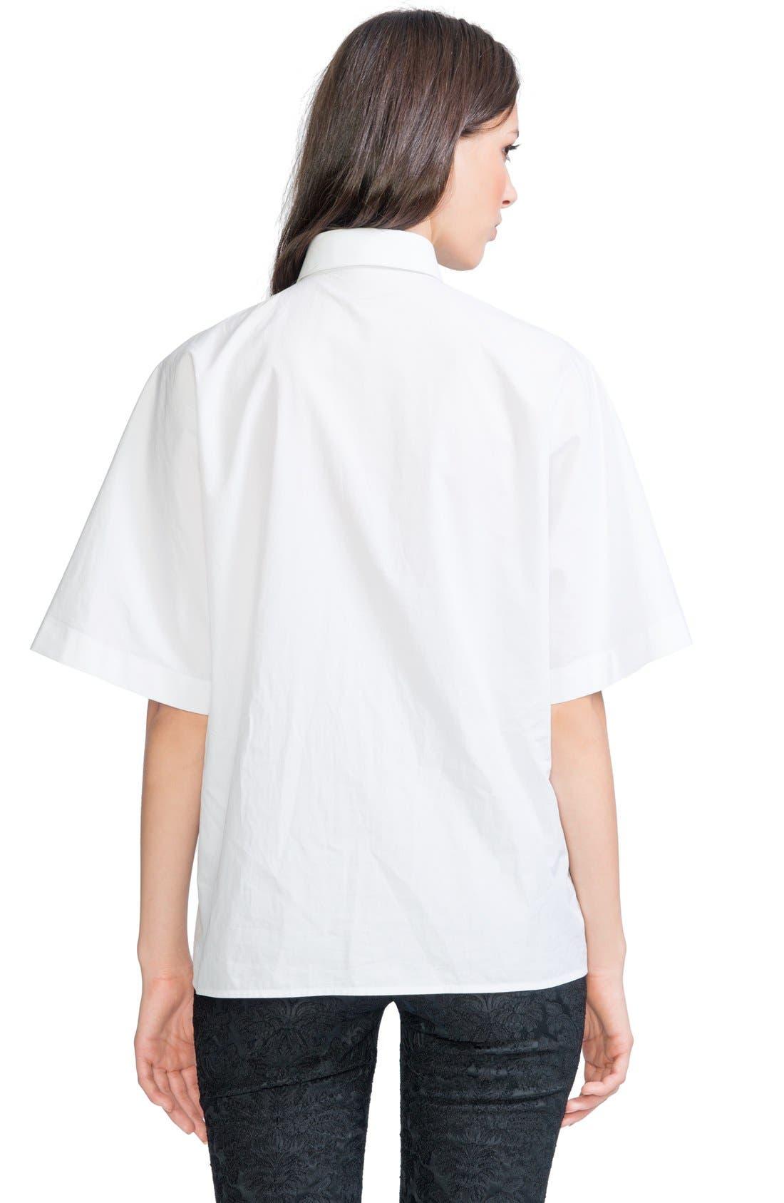 Alternate Image 2  - Dolce&Gabbana Cotton Poplin Blouse