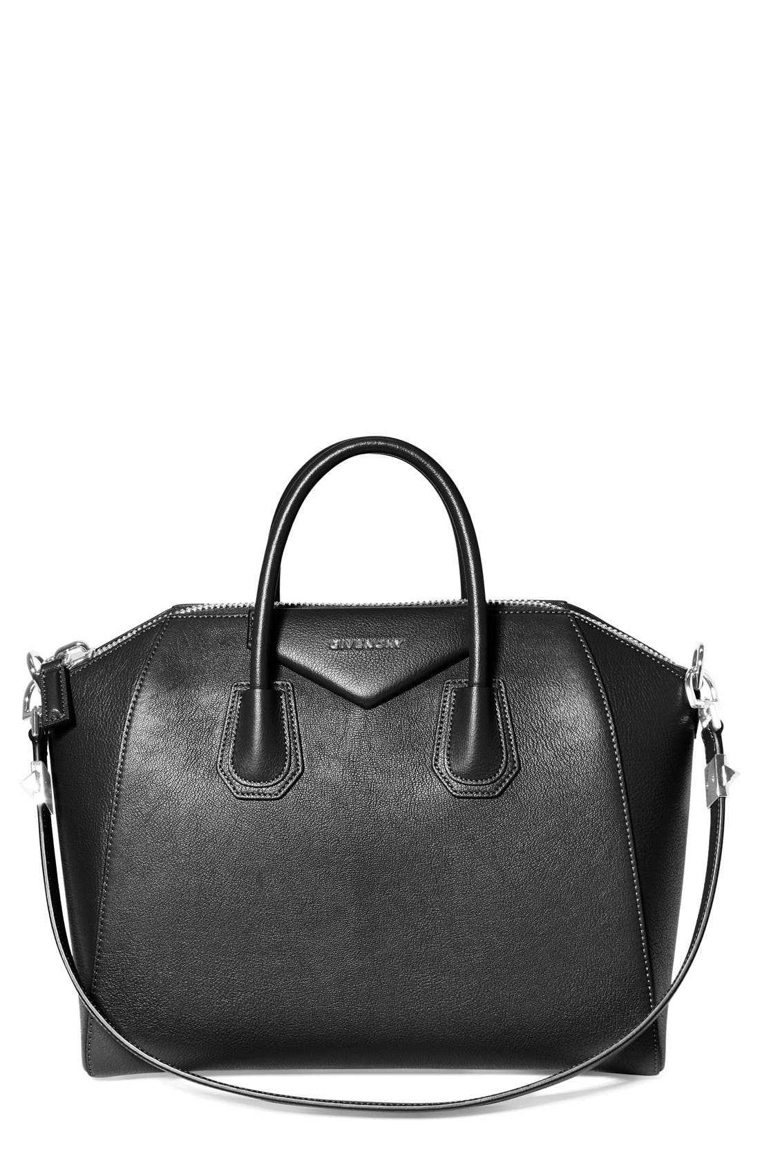 Alternate Image 1 Selected - Givenchy 'Medium Antigona' Sugar Leather Satchel