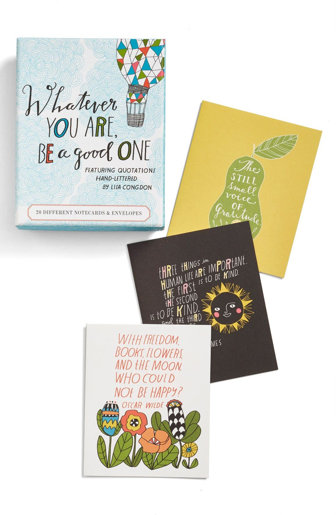 Alternate Image 2  - 'Whatever You Are, Be a Good One' Note Cards (Set of 20)