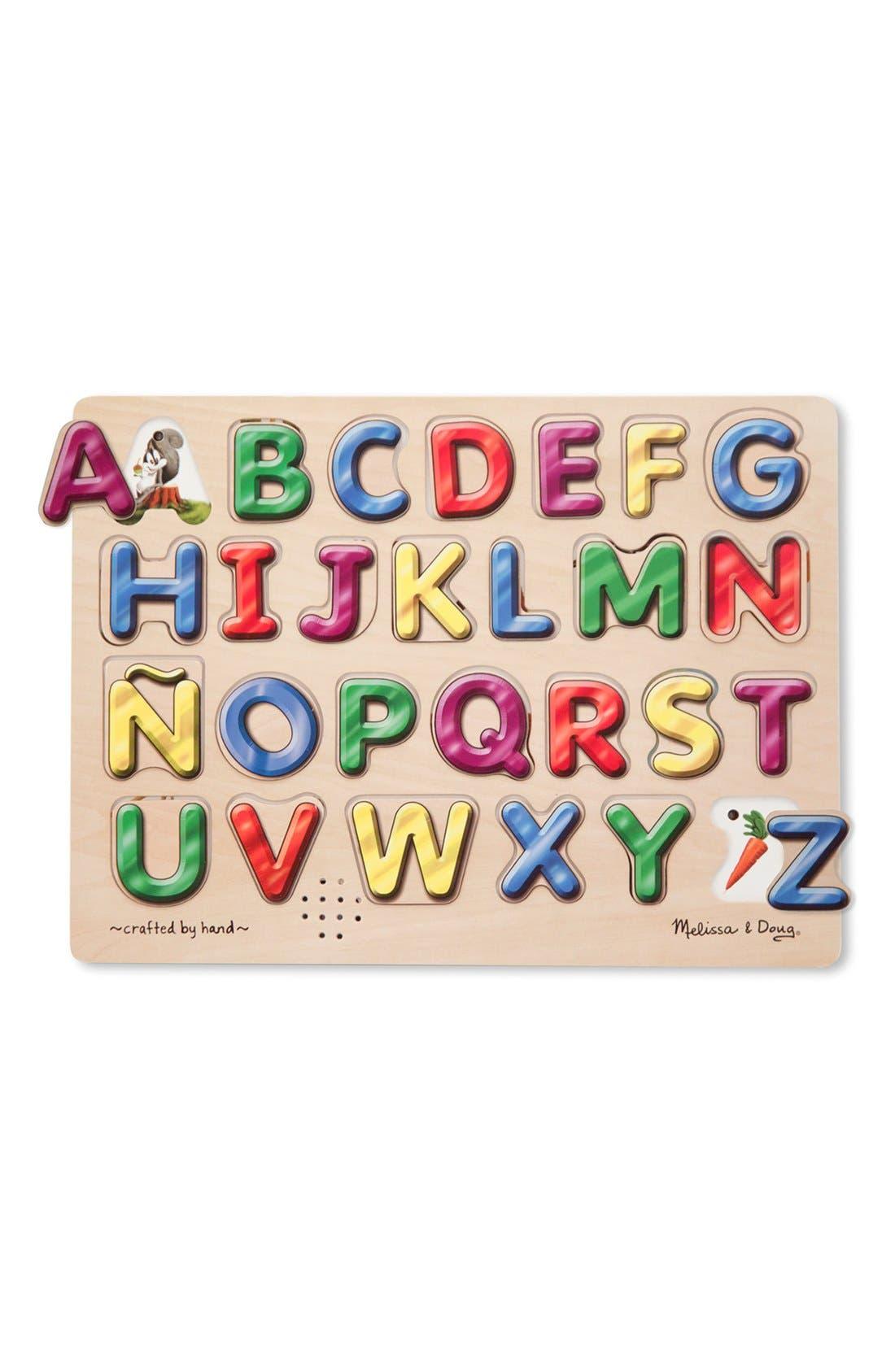 Main Image - Melissa & Doug Spanish Alphabet Wooden Sound Puzzle