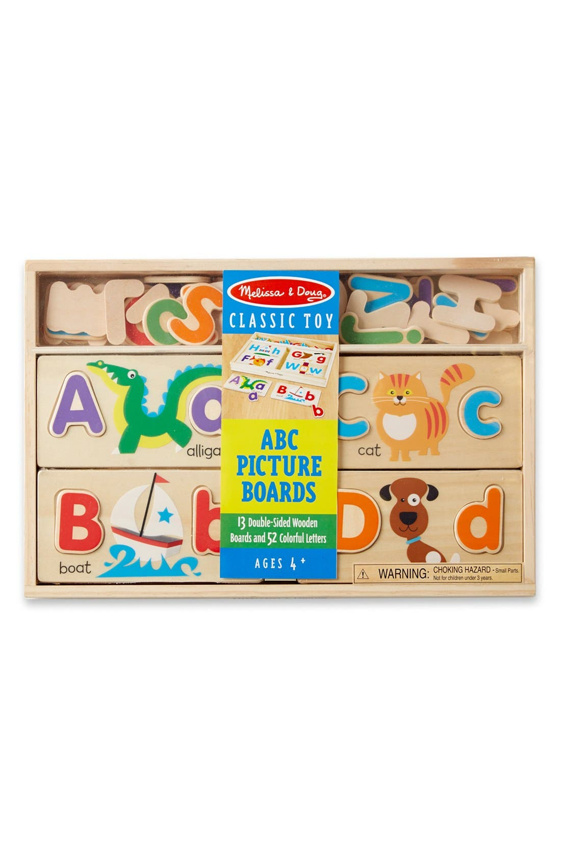 ABC Picture Boards,                             Main thumbnail 1, color,                             Brown