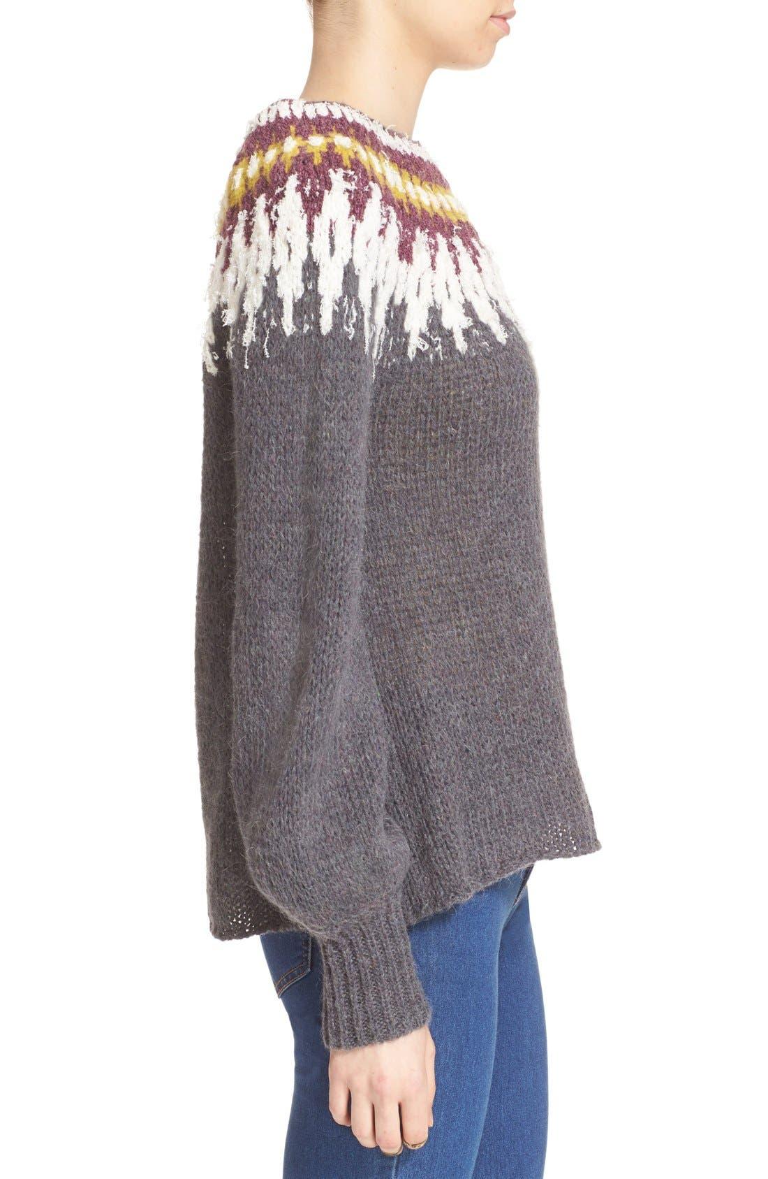 Free People 'Baltic Fairisle' Sweater   Nordstrom