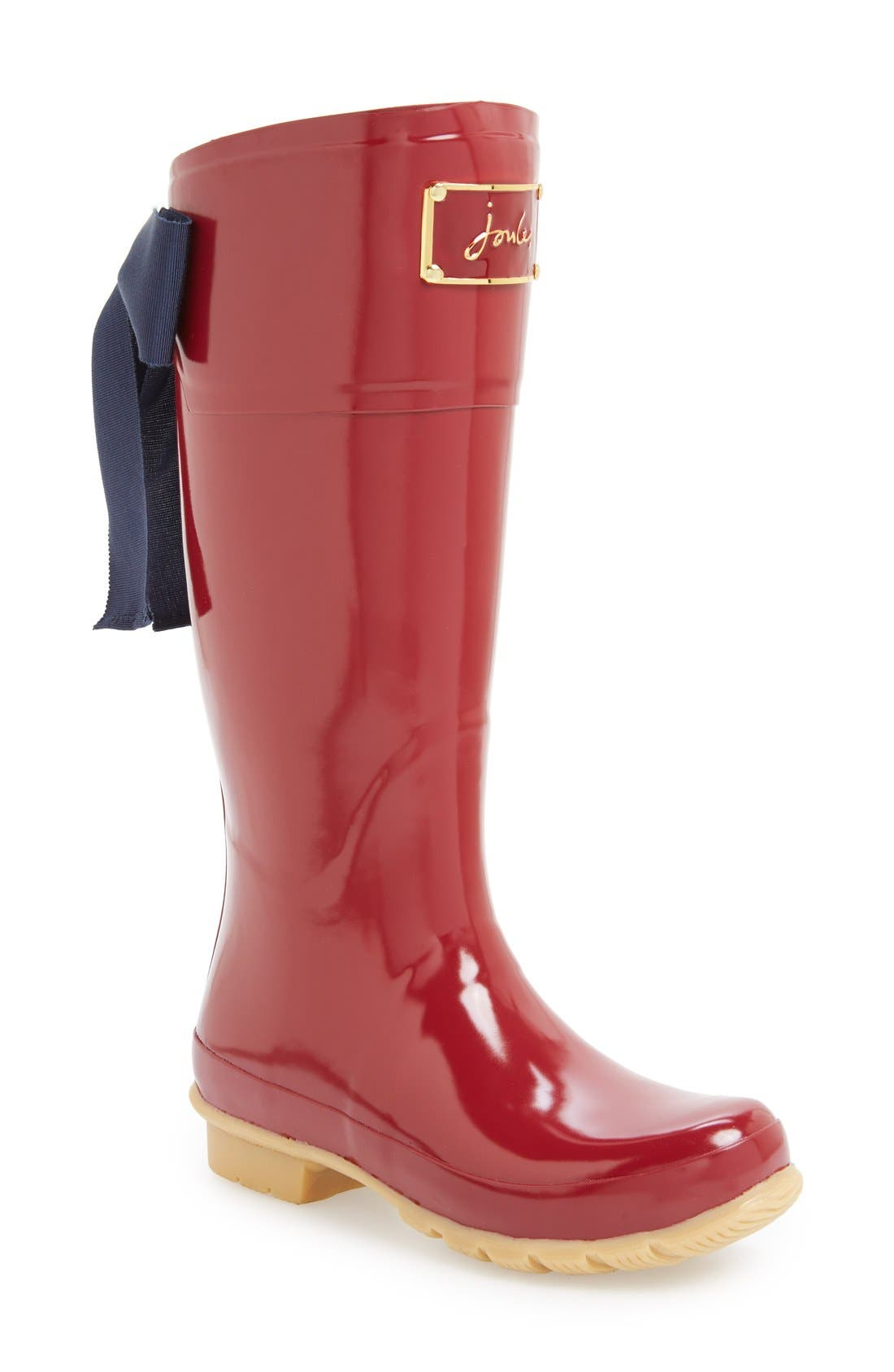 Alternate Image 1 Selected - Joules 'Evedon' Rain Boot (Women)