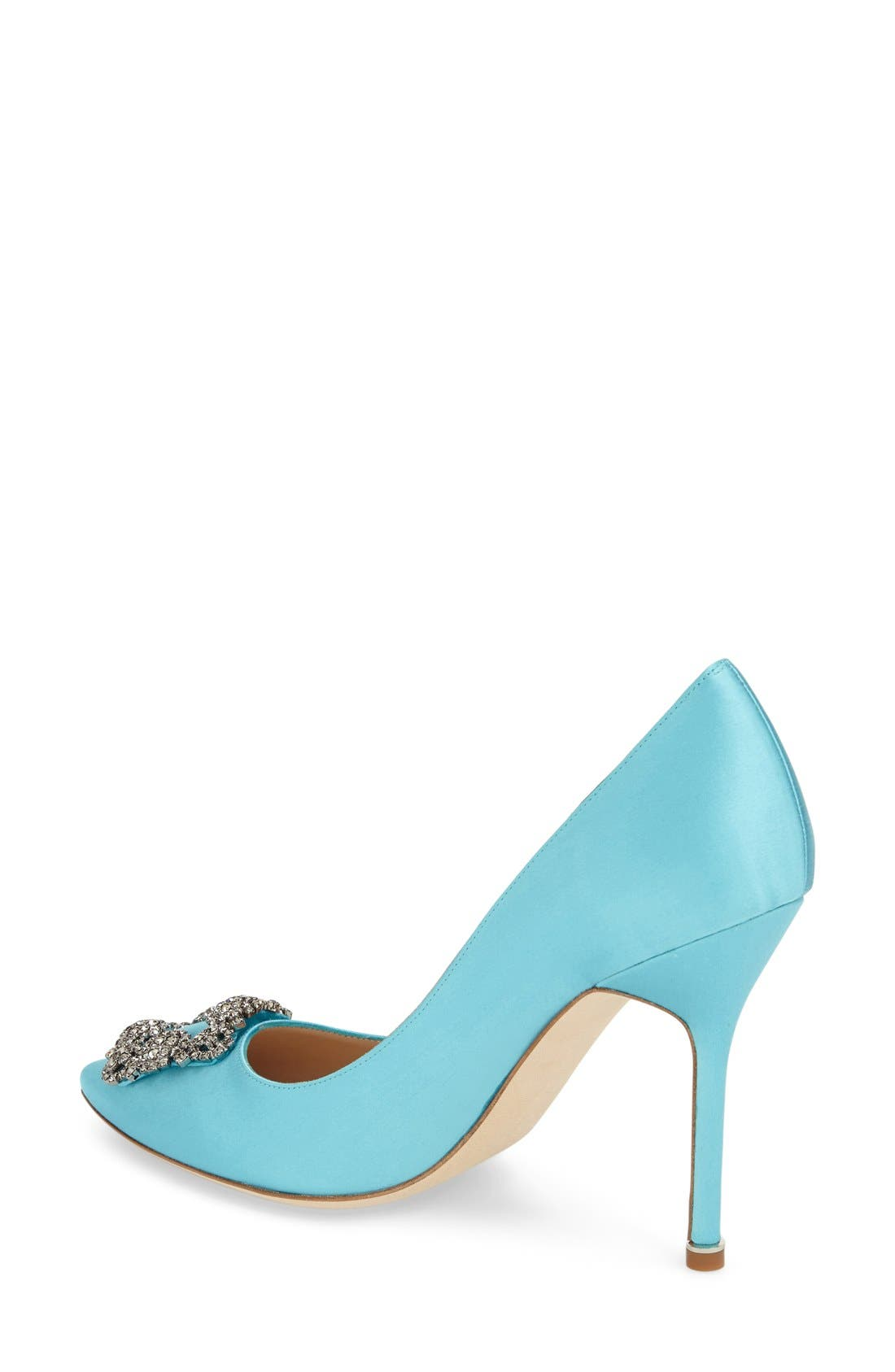 Alternate Image 2  - Manolo Blahnik 'Hangisi' Jewel Pump (Women)