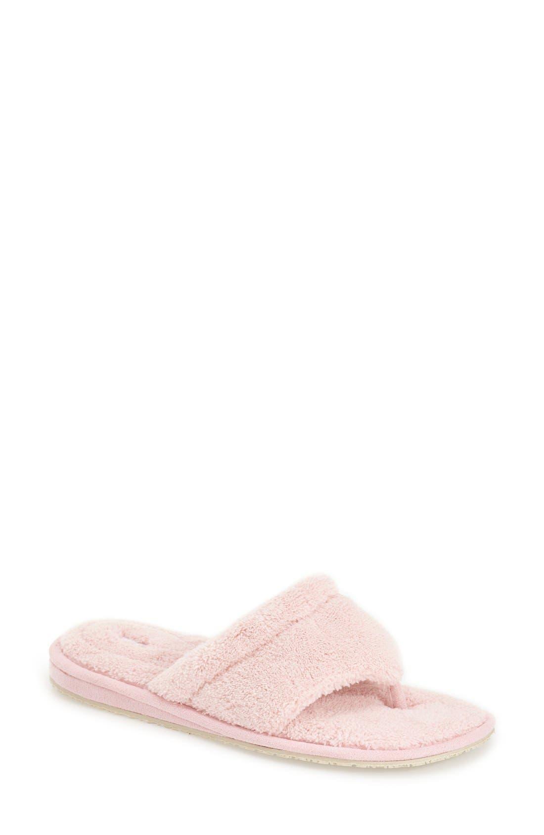 'Splash' Slipper,                             Main thumbnail 1, color,                             Pink