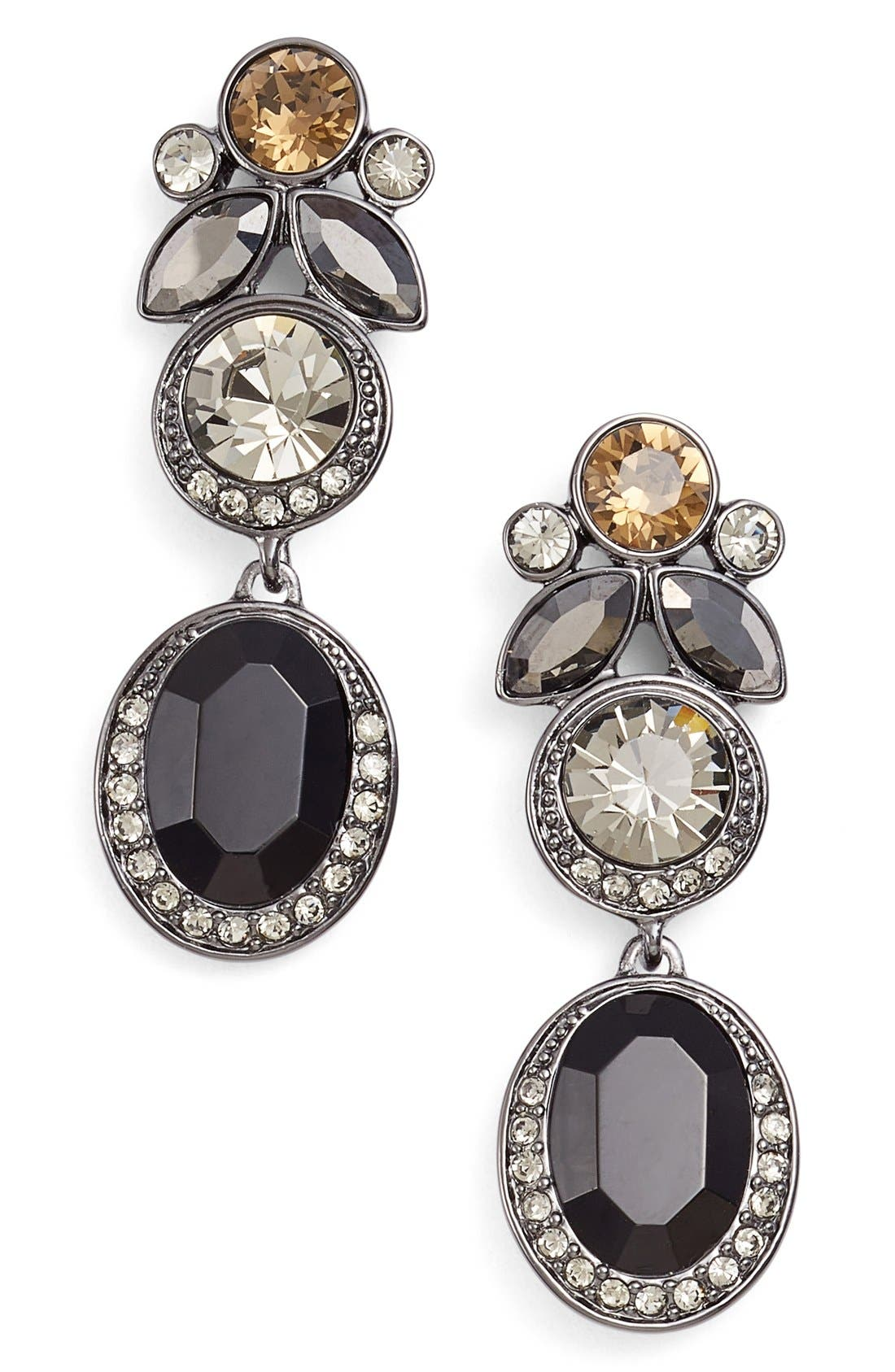 Alternate Image 1 Selected - Givenchy Jeweled Drop Earrings