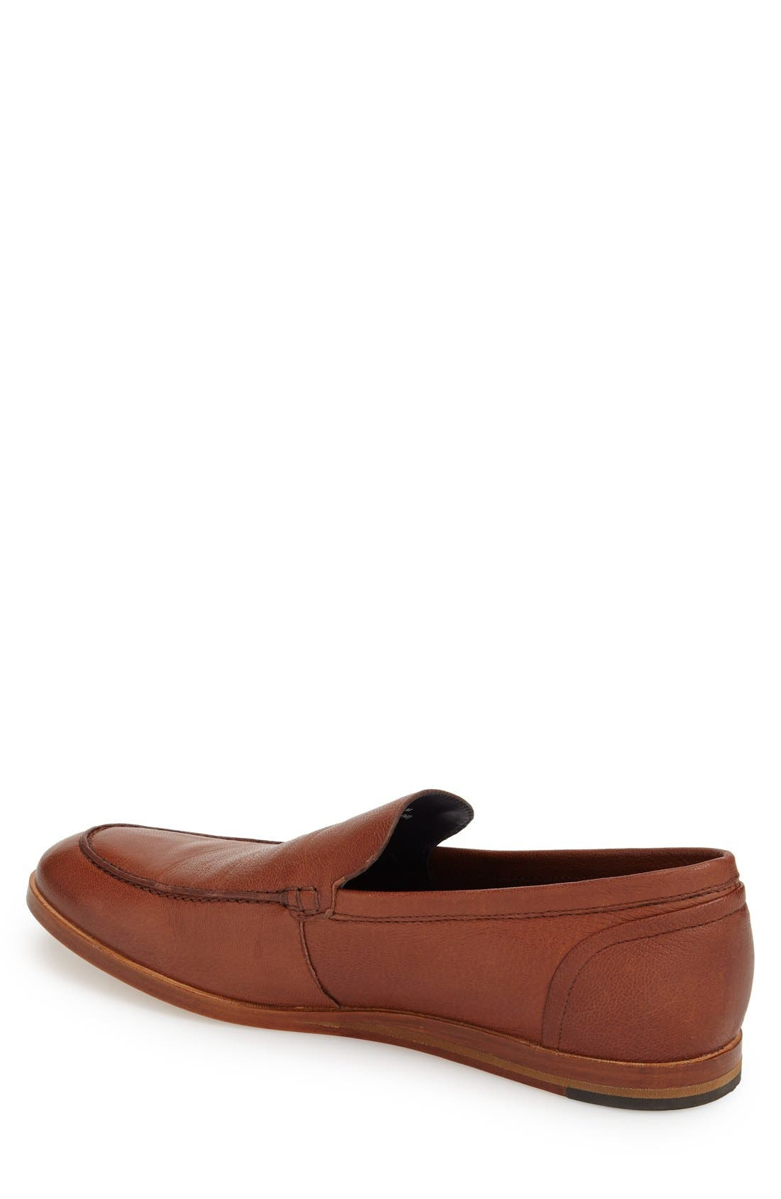 'Bedford' Loafer,                             Alternate thumbnail 2, color,                             Sequoia Brown