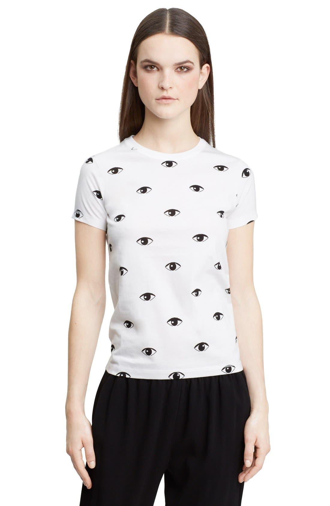 Alternate Image 1 Selected - KENZO Eye Print Cotton T-Shirt