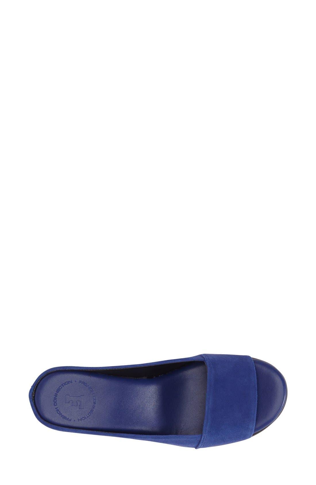 Alternate Image 3  - French Connection 'Pepper' Slip-On Platform Sandal (Women)