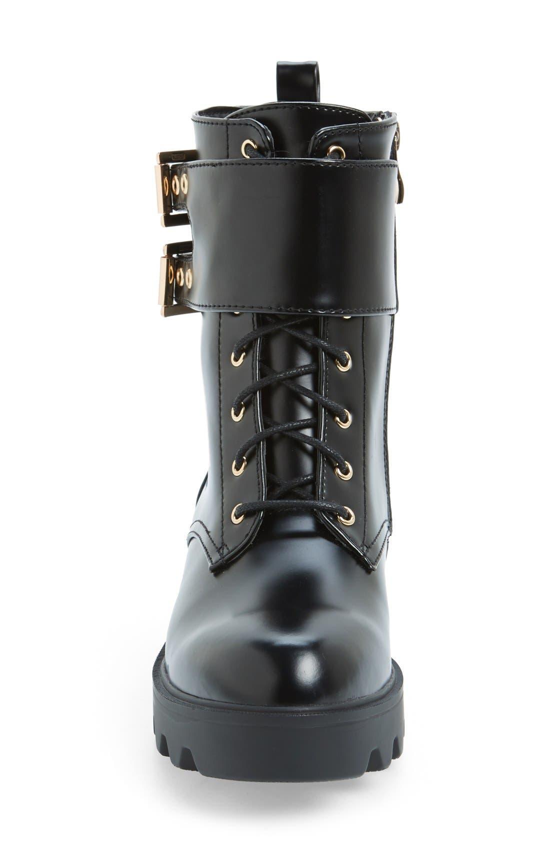 Alternate Image 3  - N.Y.L.A 'Starkk' Combat Boot (Women)