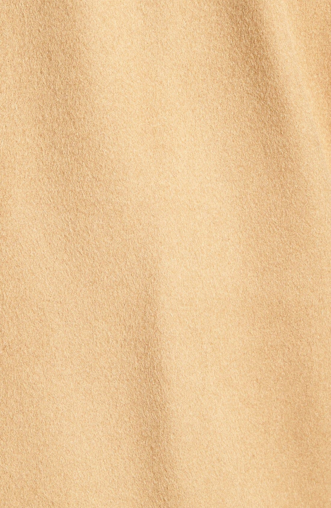 Douglas Modern Fit Wool & Cashmere Overcoat,                             Alternate thumbnail 5, color,                             Camel