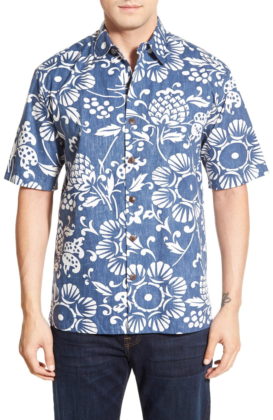 Alternate Image 1 Selected - KAHALA 'Dukes Par' Regular Fit Sport Shirt