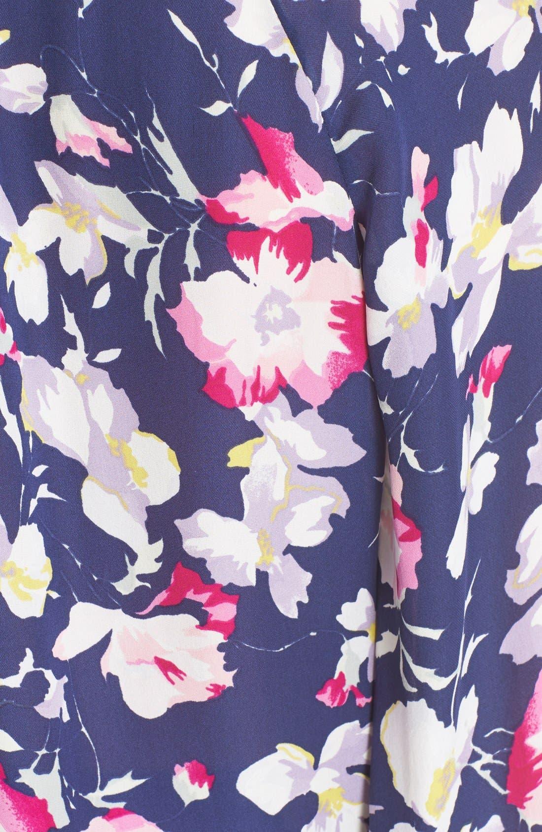 Alternate Image 5  - Joie 'McKenna' Floral Print Silk Blouse