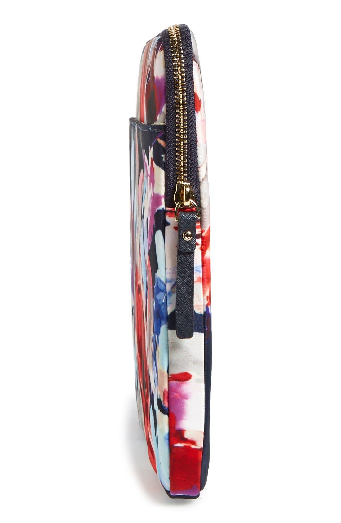 Alternate Image 3  - kate spade new york 'hazy floral' laptop sleeve (13 inch)